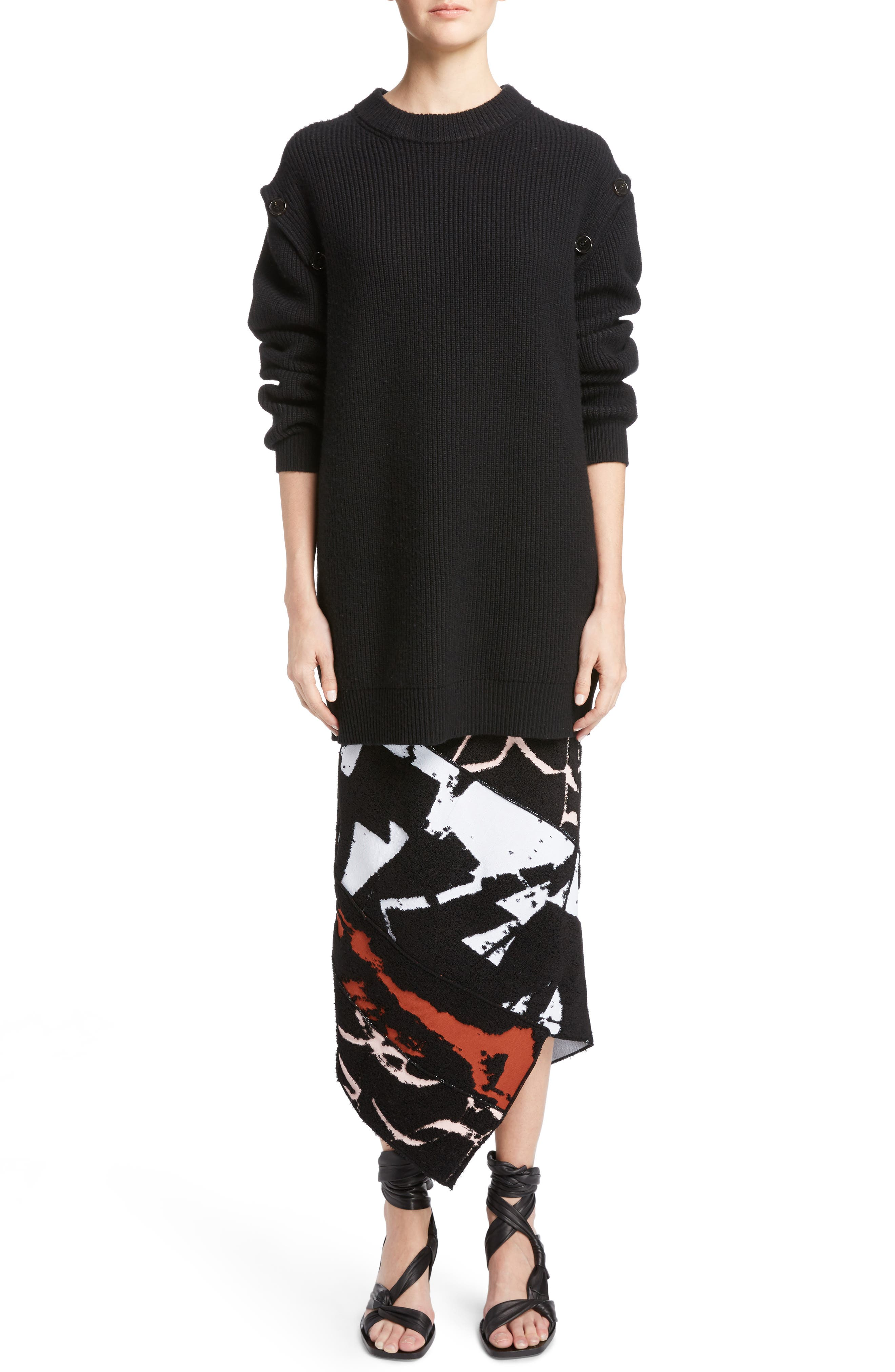 Alternate Image 6  - Proenza Schouler Wool & Cashmere Blend Knit Tunic