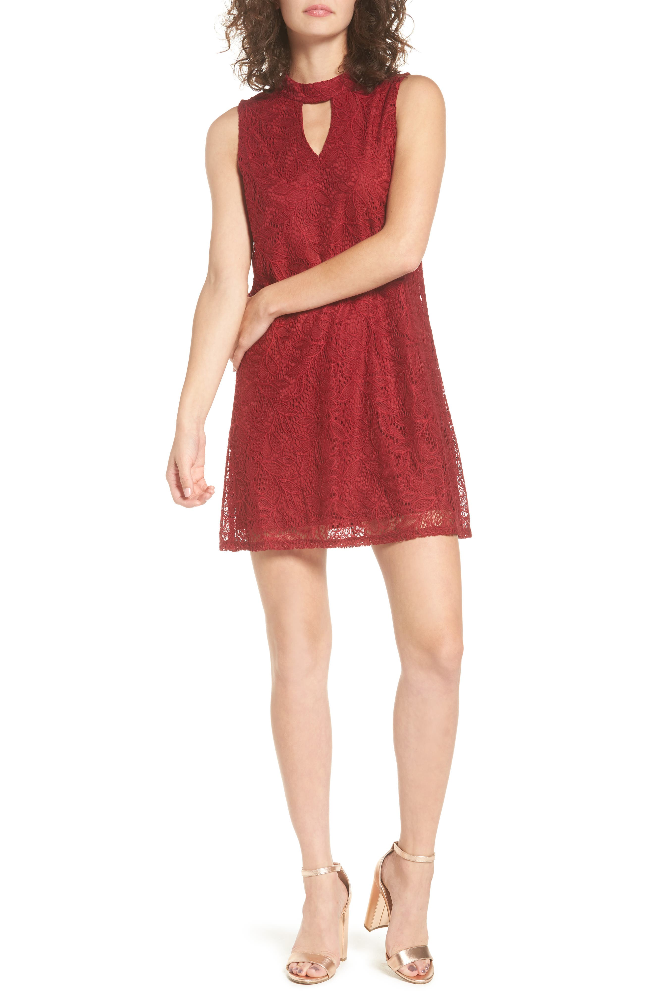 As You Wish Keyhole Lace Dress