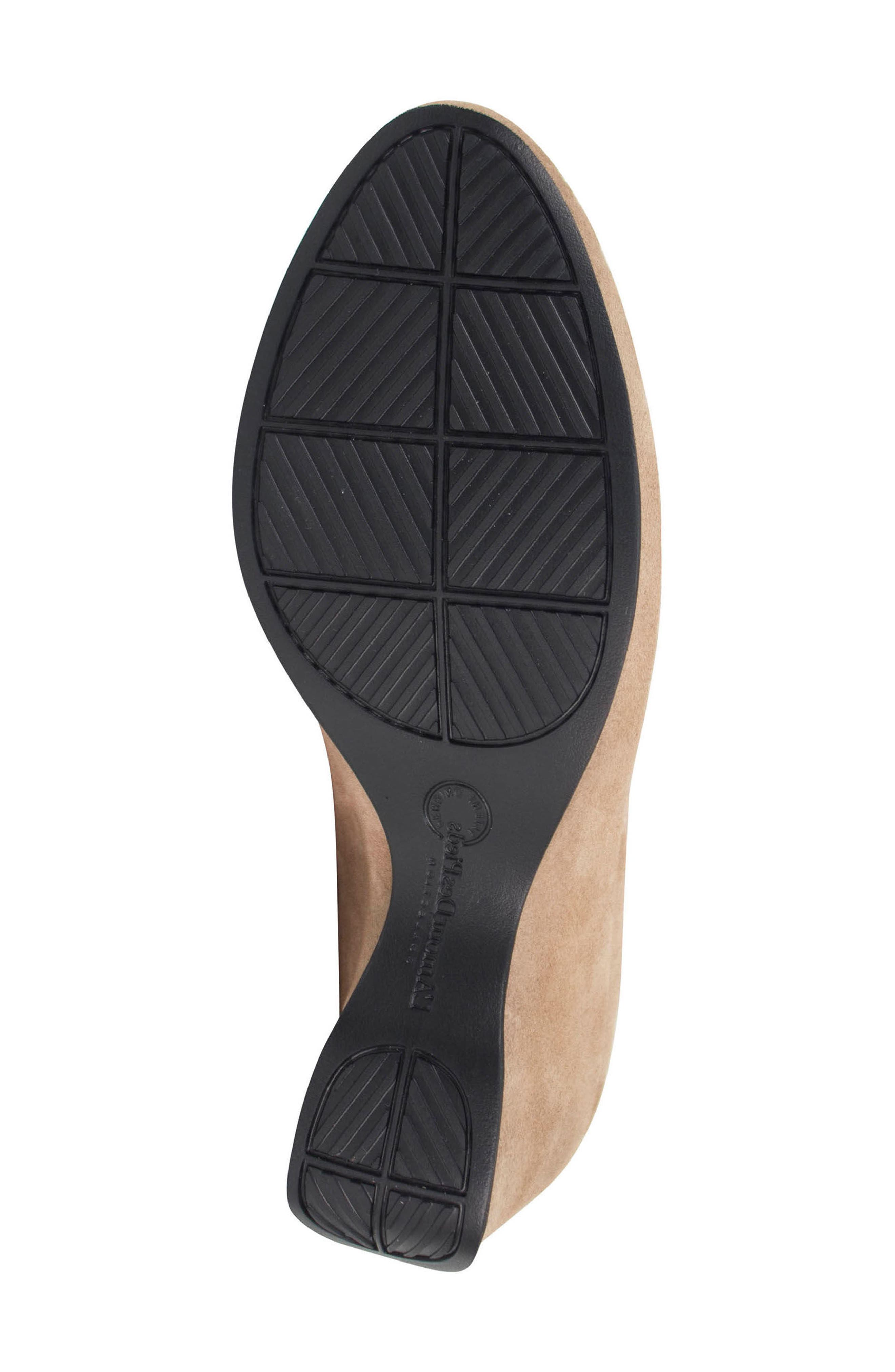 Othello Lace-Up Sandal,                             Alternate thumbnail 6, color,                             Taupe Suede