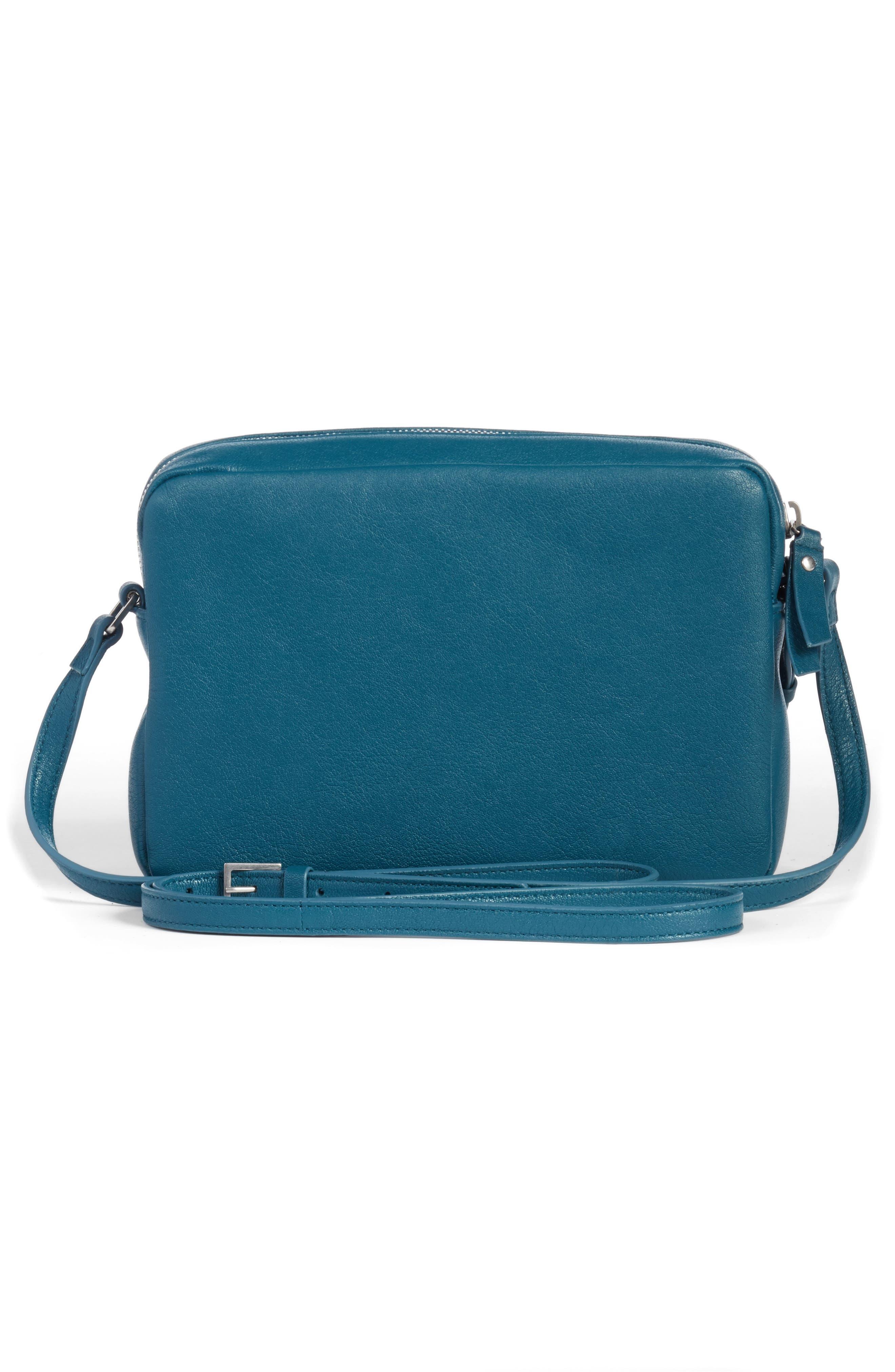 Alternate Image 2  - Saint Laurent Small Mono Leather Camera Bag