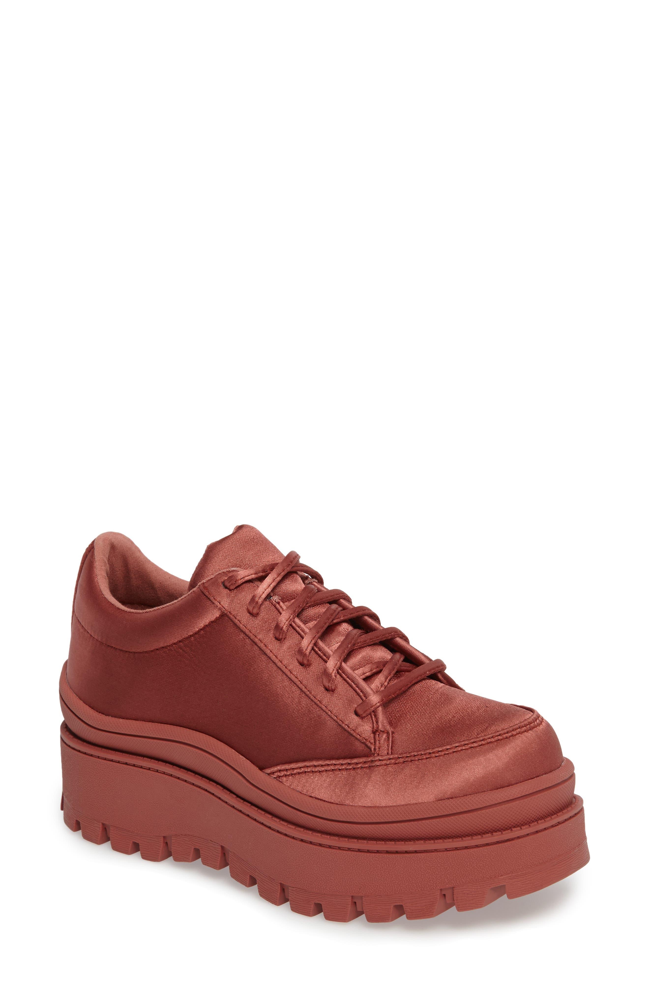 JEFFREY CAMPBELL Top Peak Platform Sneaker