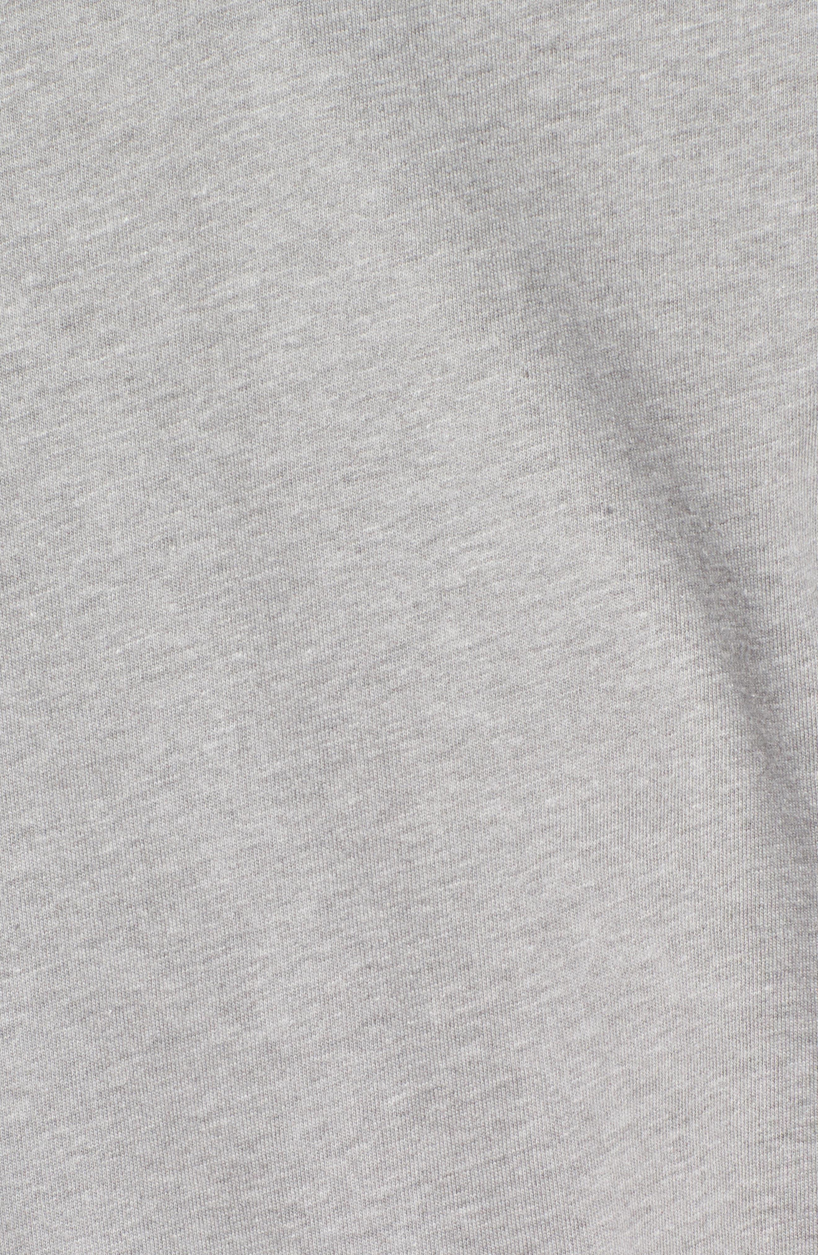 Hitson II Henley T-Shirt,                             Alternate thumbnail 5, color,                             Cement Heather/ Port Royale