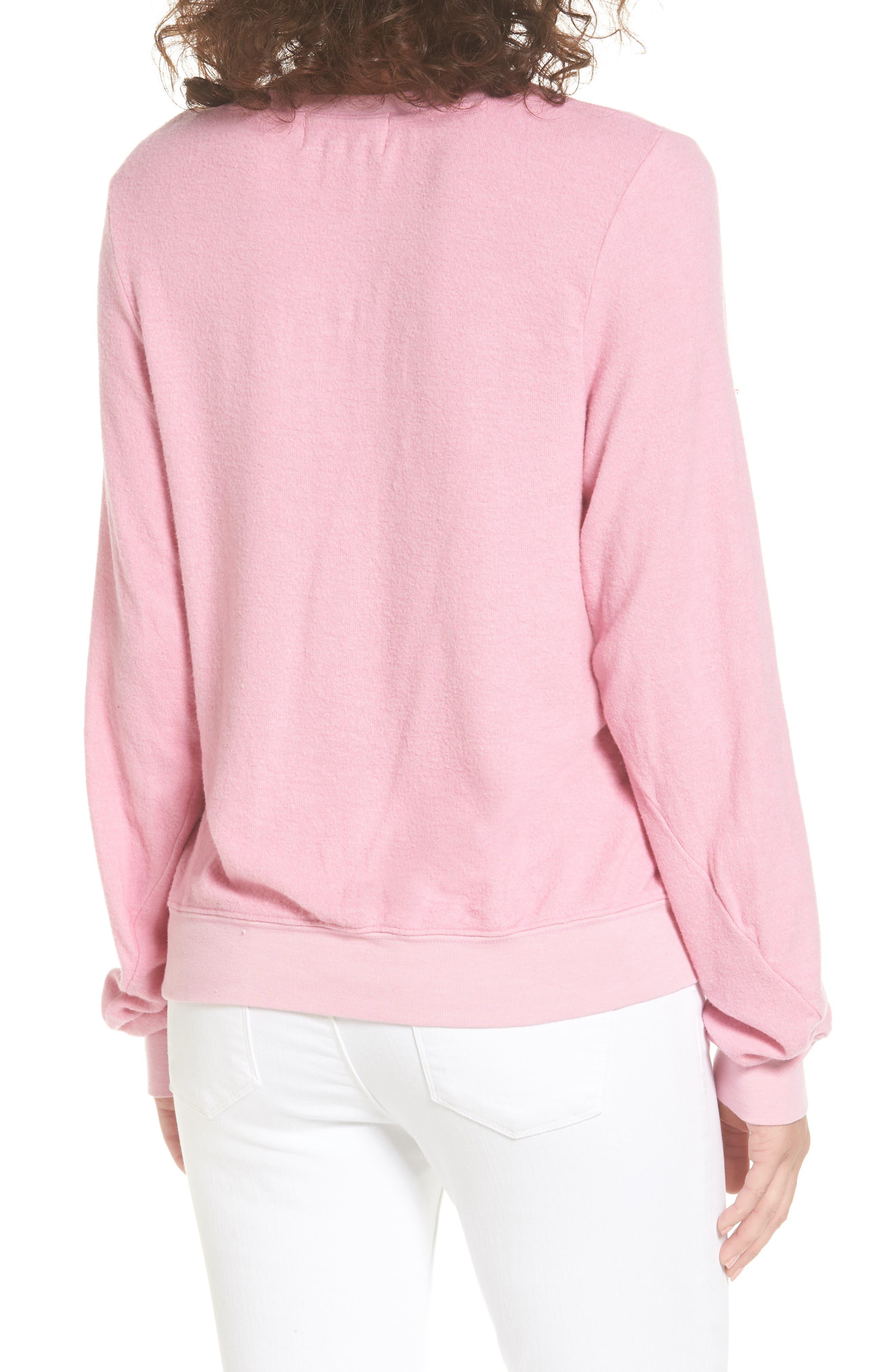 Friday Sweatshirt,                             Alternate thumbnail 2, color,                             Pink