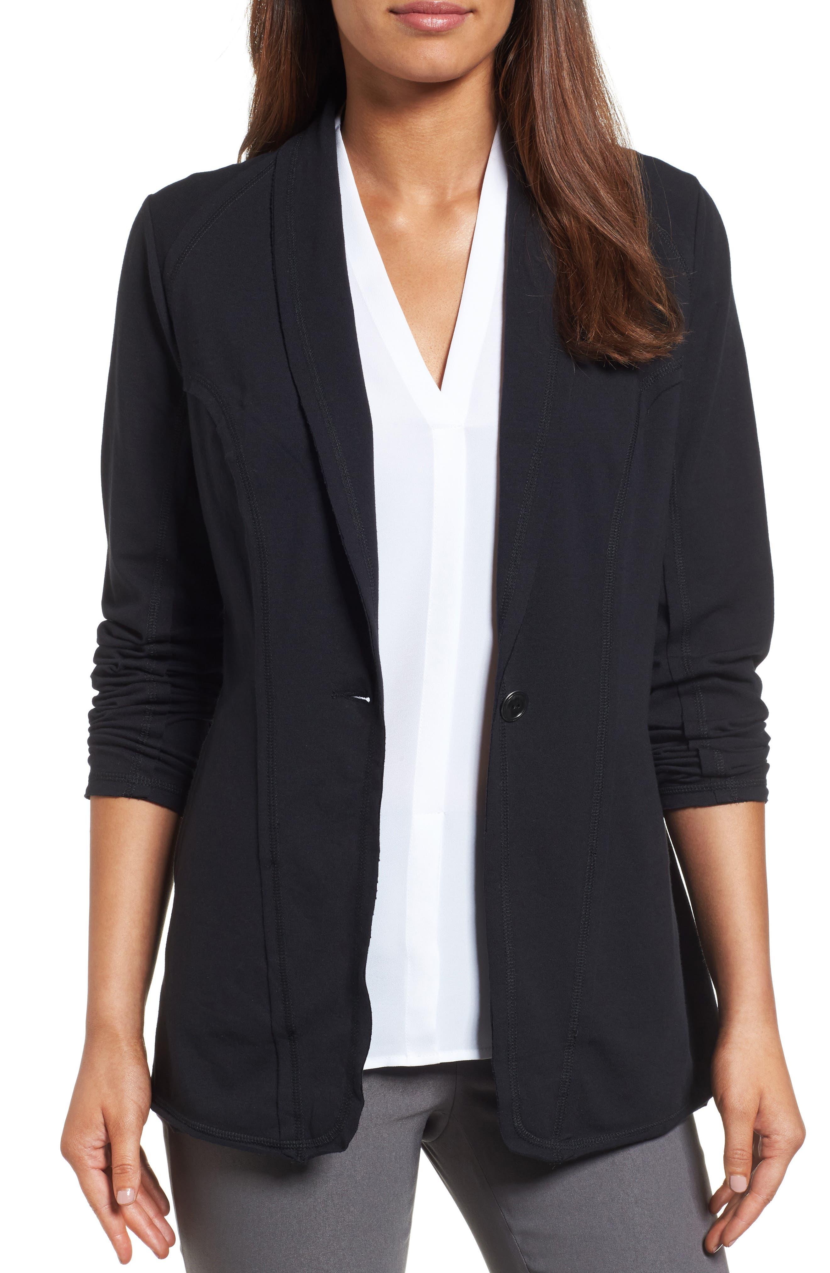 The Perfect Jacket,                             Main thumbnail 1, color,                             Black Onyx