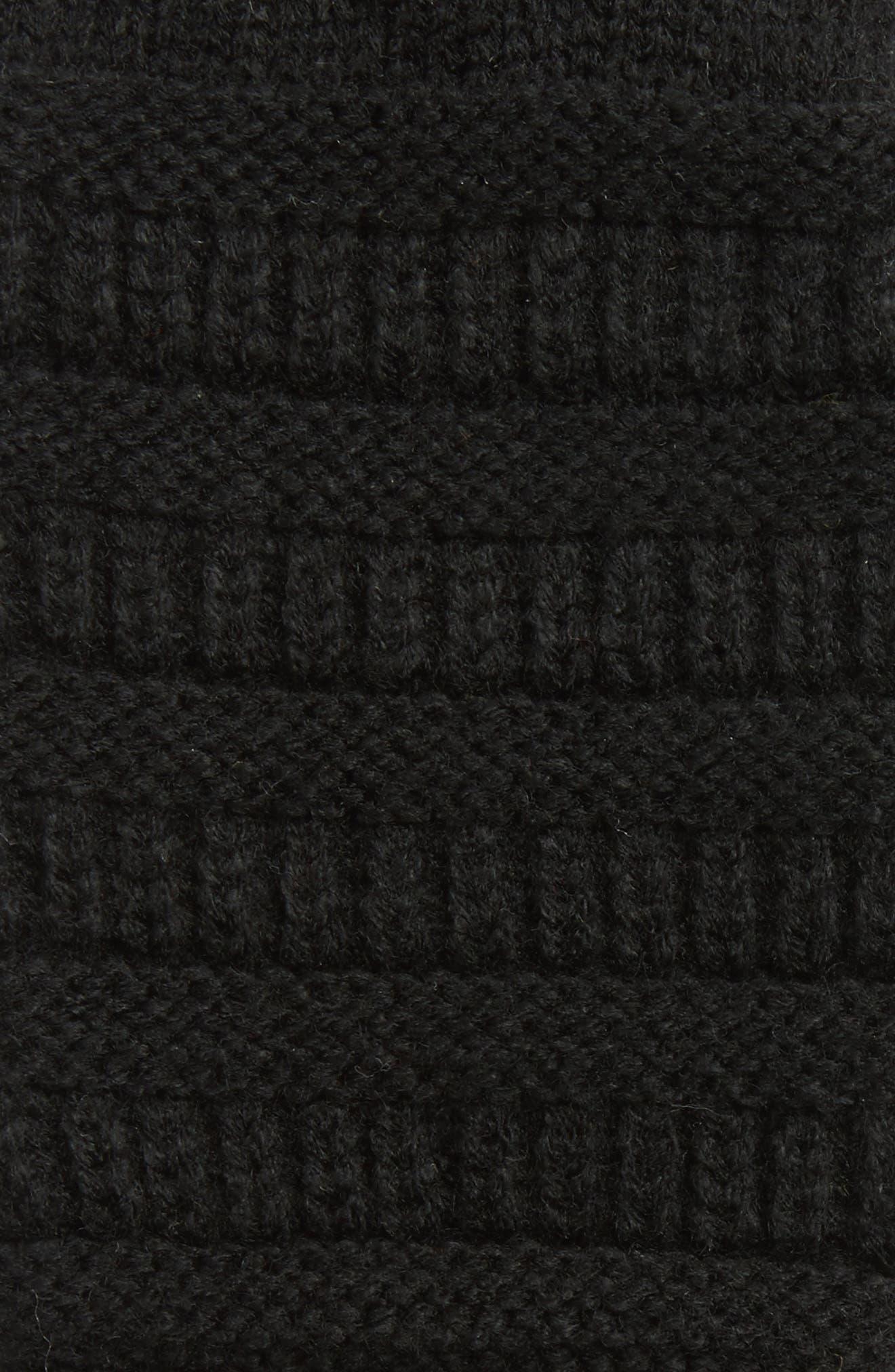 Alternate Image 2  - CC Rib Knit Tech Gloves