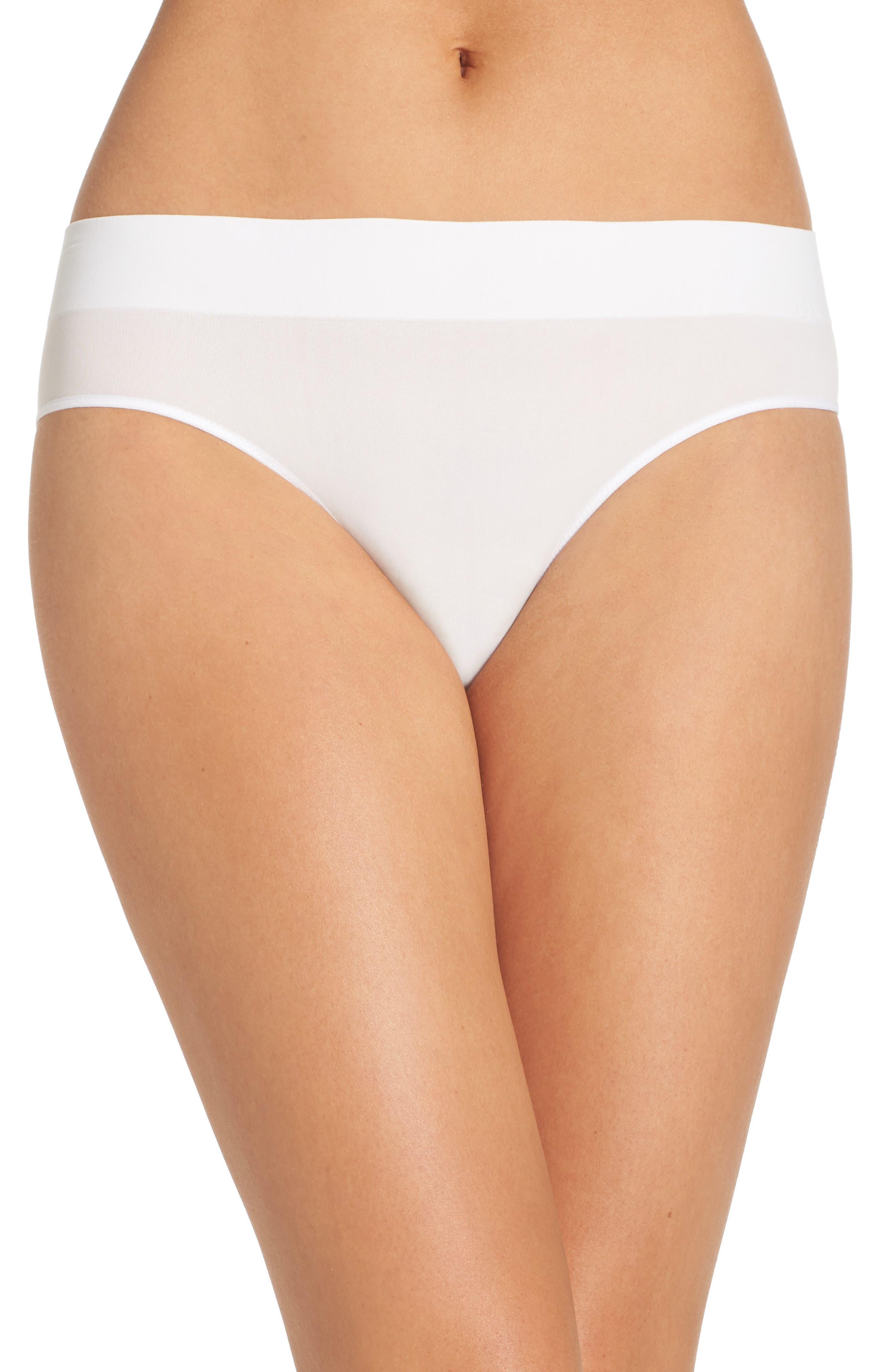 Main Image - DKNY LiteWear Seamless Bikini (3 for $33)