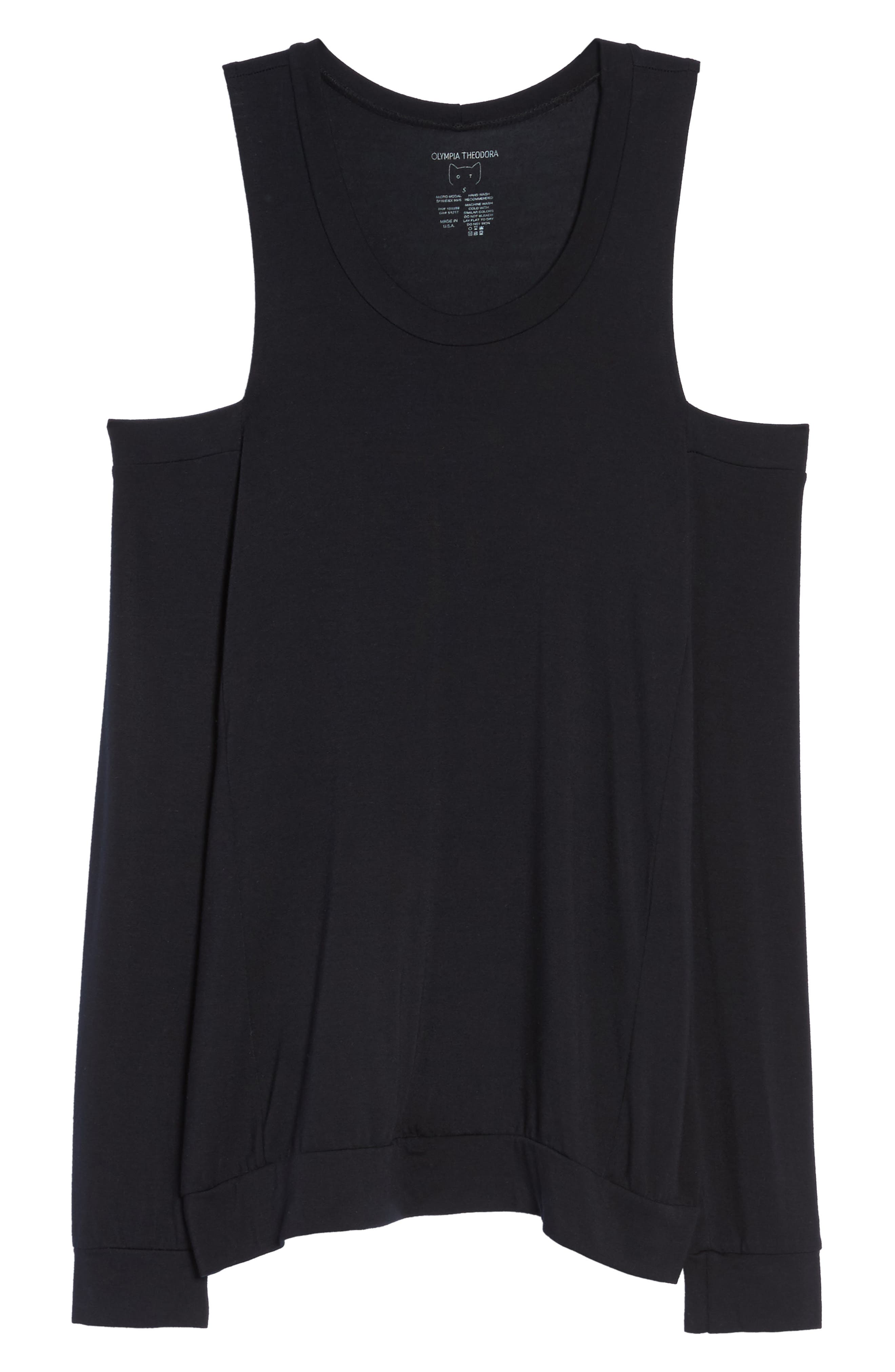 Alternate Image 4  - Olympia Theodora Roma Cold Shoulder Pullover