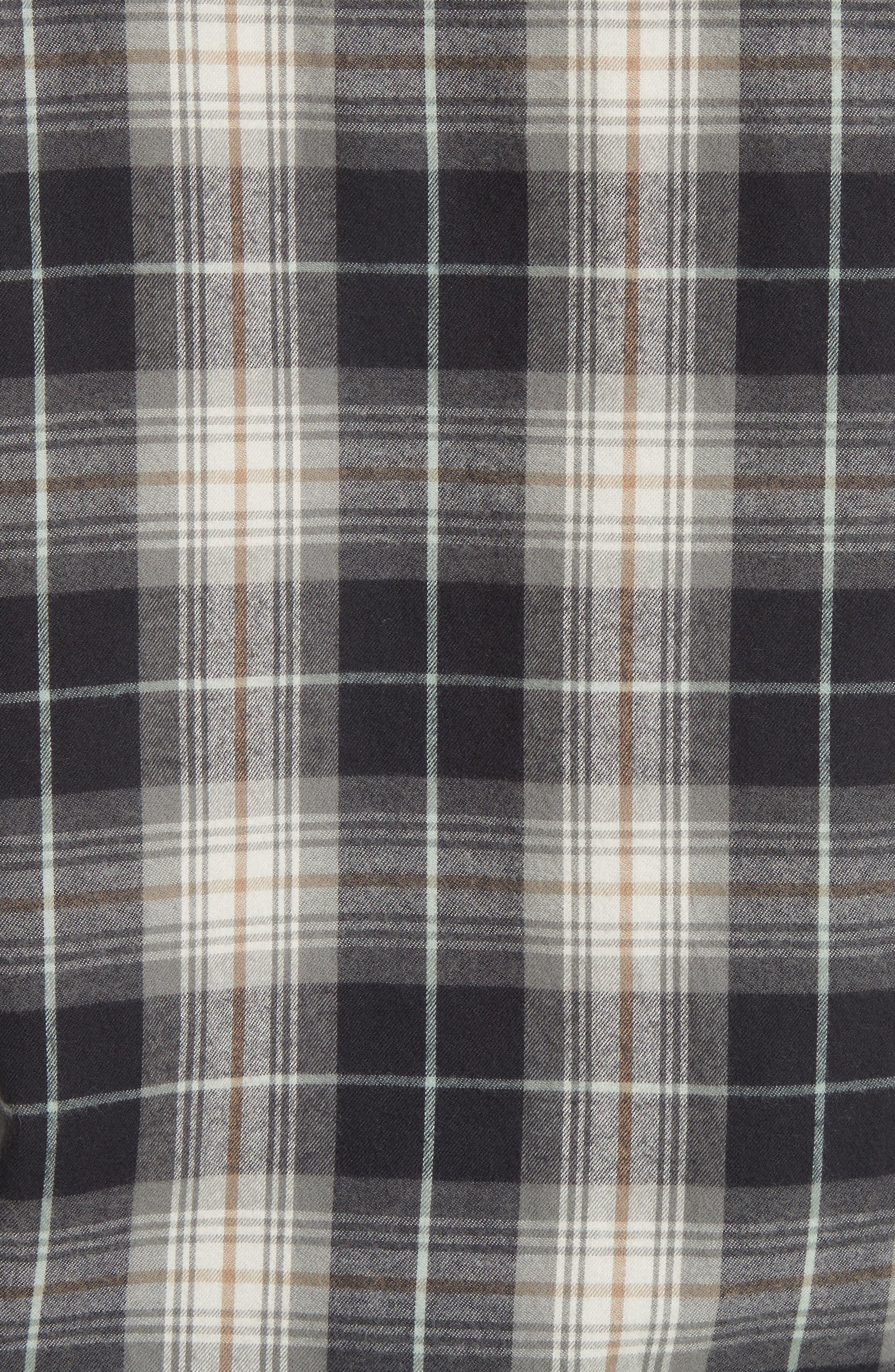 Alternate Image 5  - Vince Tartan Plaid Oversize Shirt