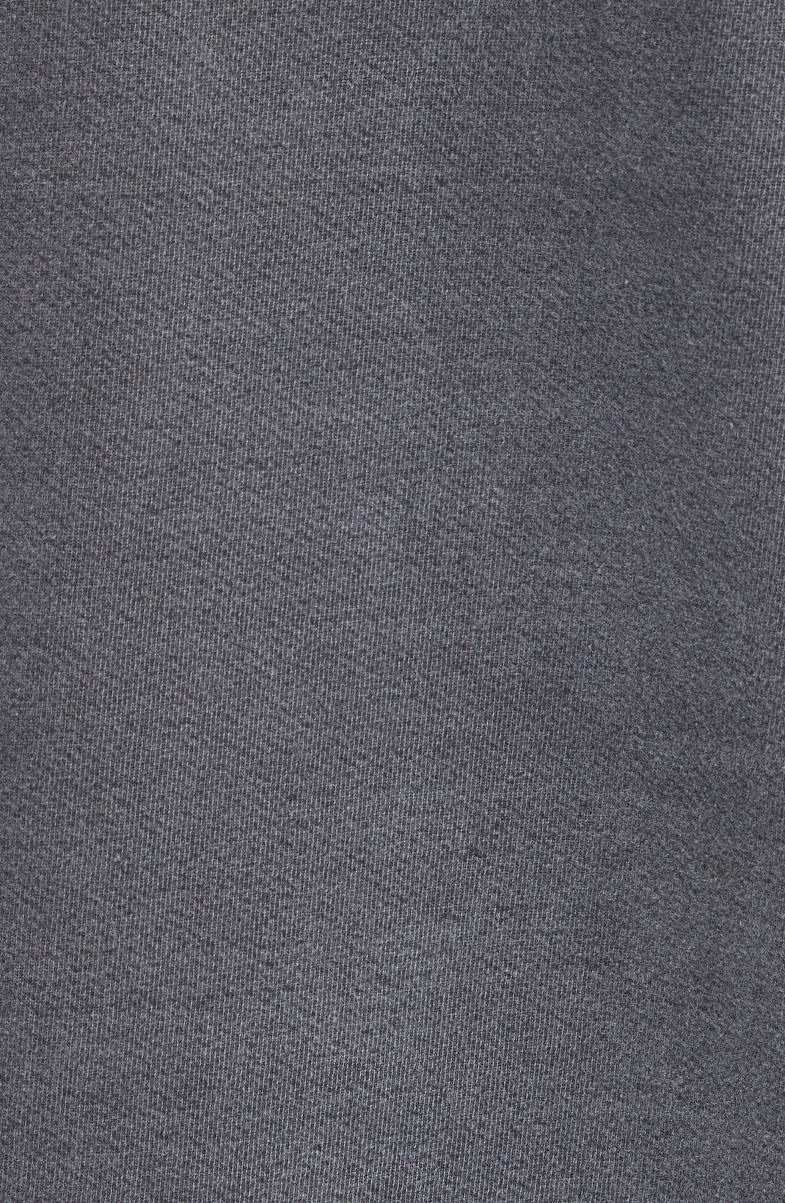 Norton Sweatshirt,                             Alternate thumbnail 5, color,                             Black Pigment