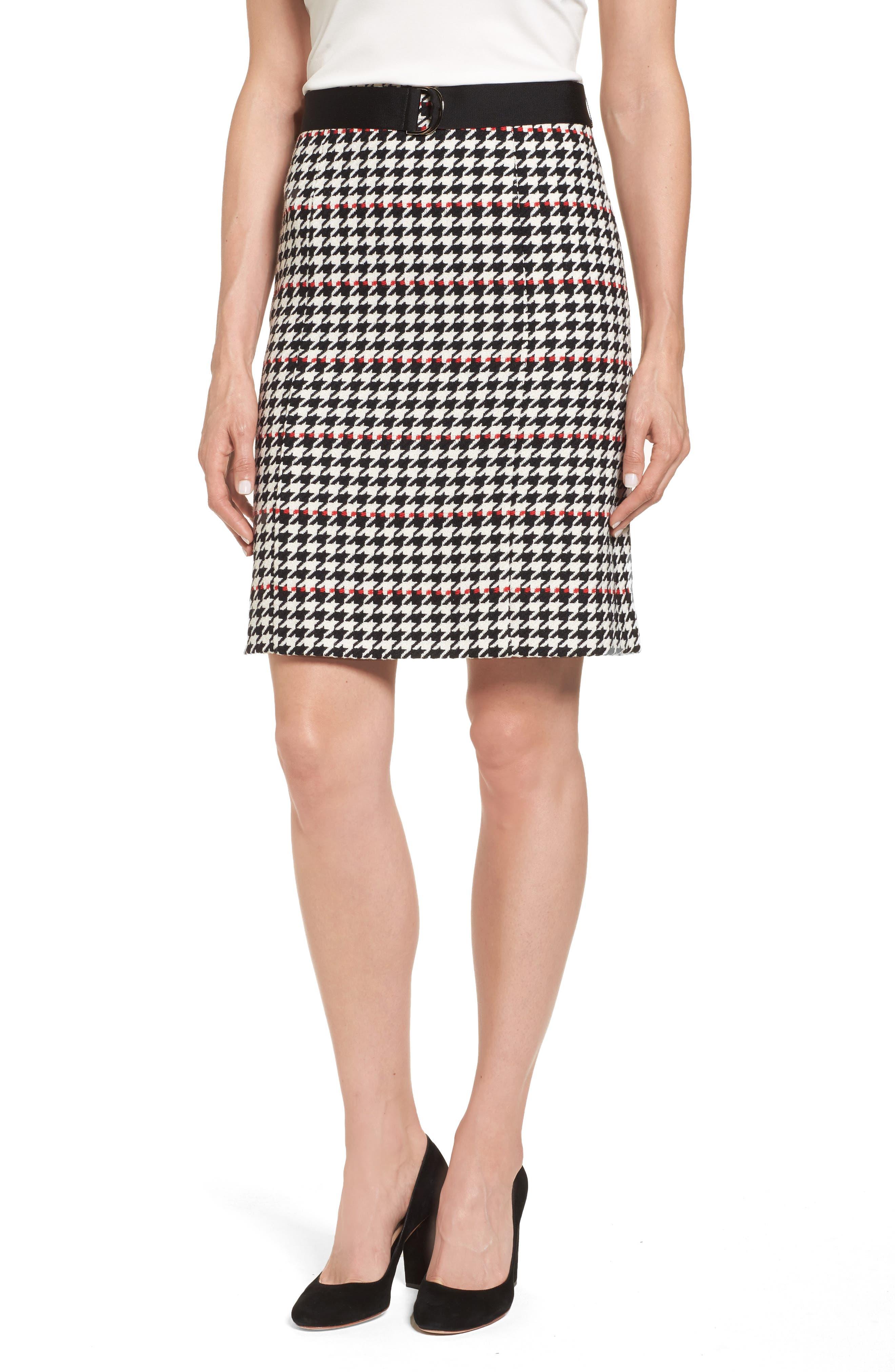 Main Image - BOSS Vulnona Skirt