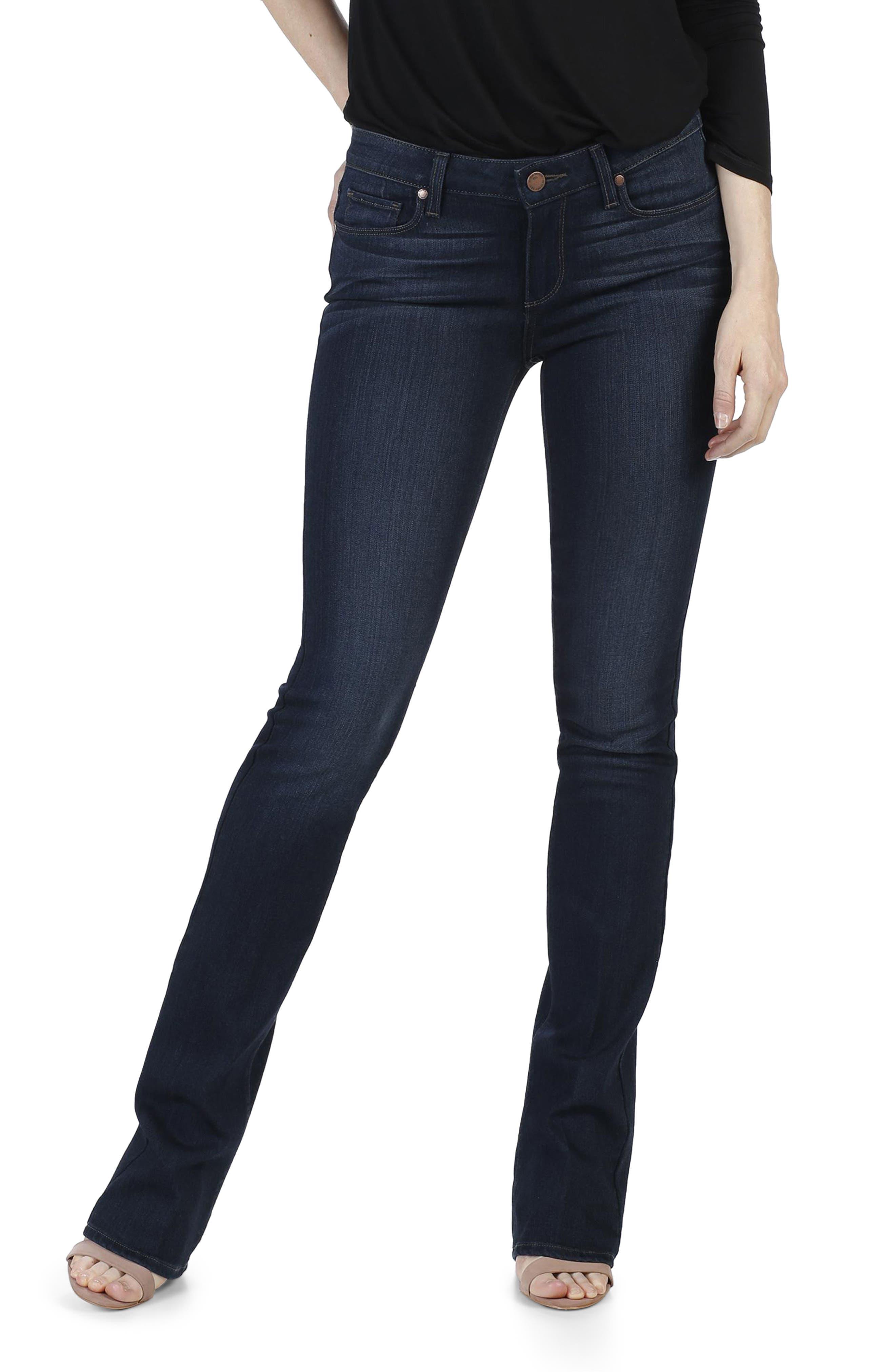 Transcend - Manhattan Bootcut Jeans,                         Main,                         color, Elsie