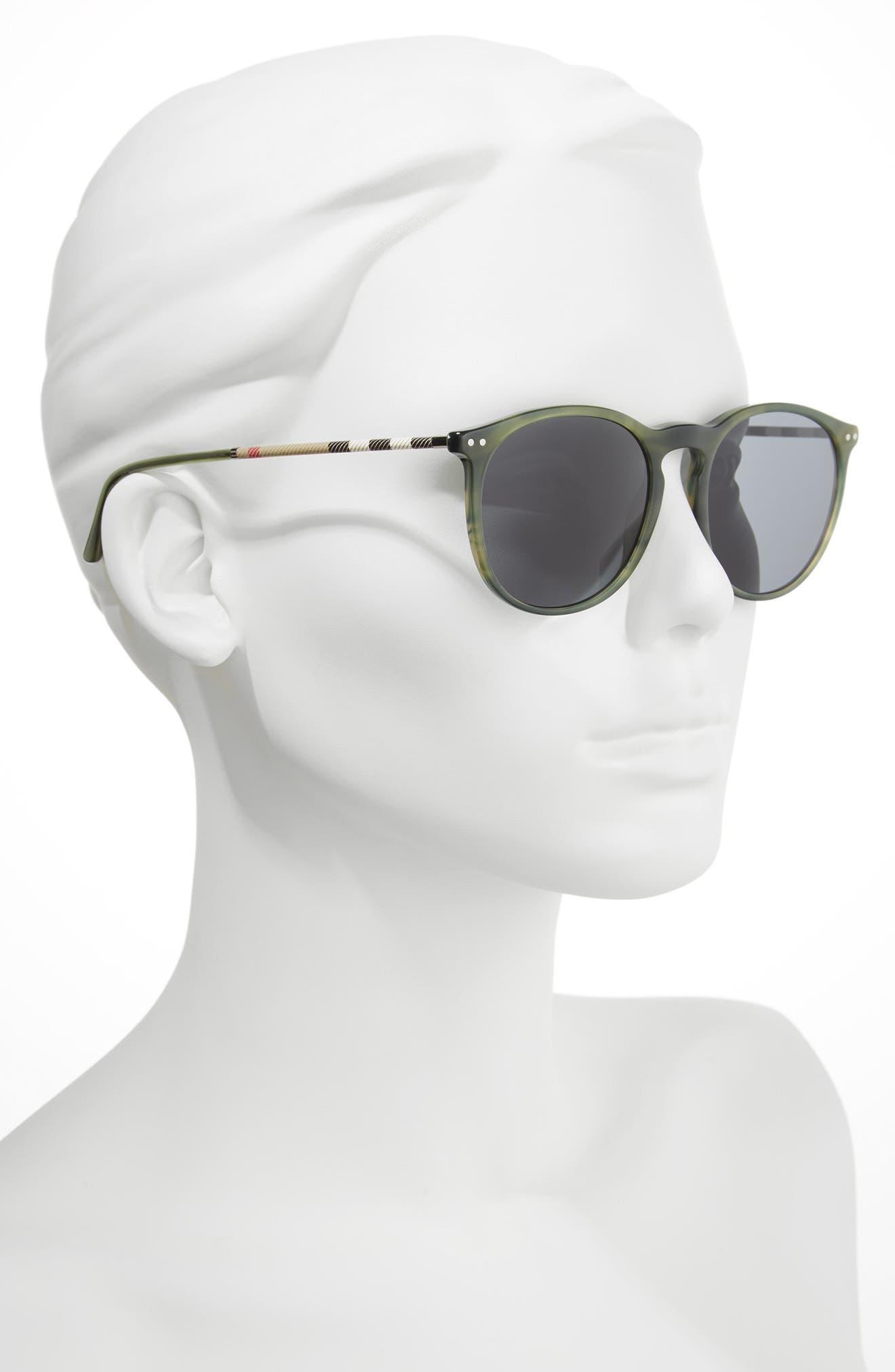 54mm Sunglasses,                             Alternate thumbnail 2, color,                             Grey/ Green