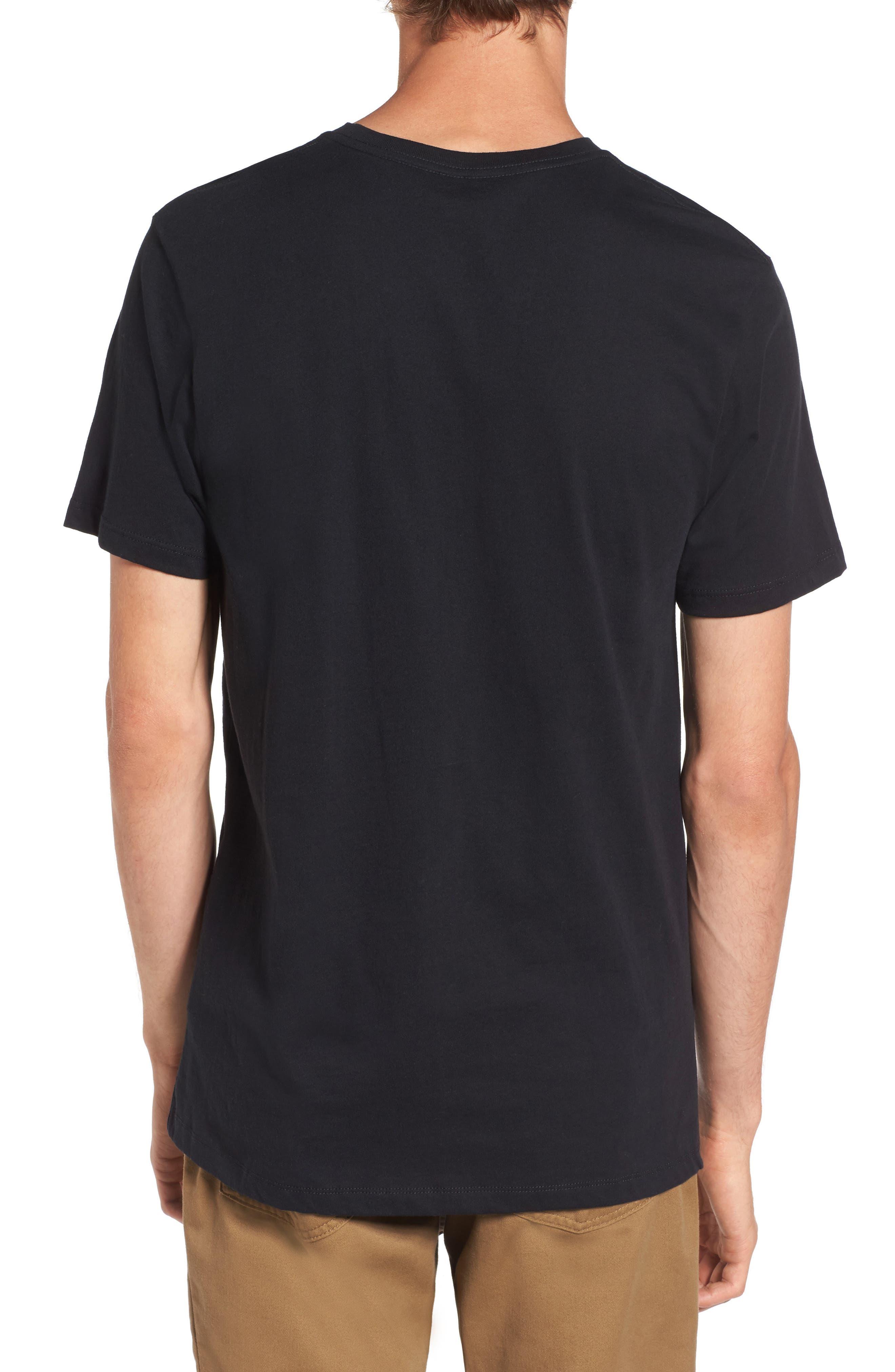 Alternate Image 2  - Vans Everyday Embroidered Pocket T-Shirt