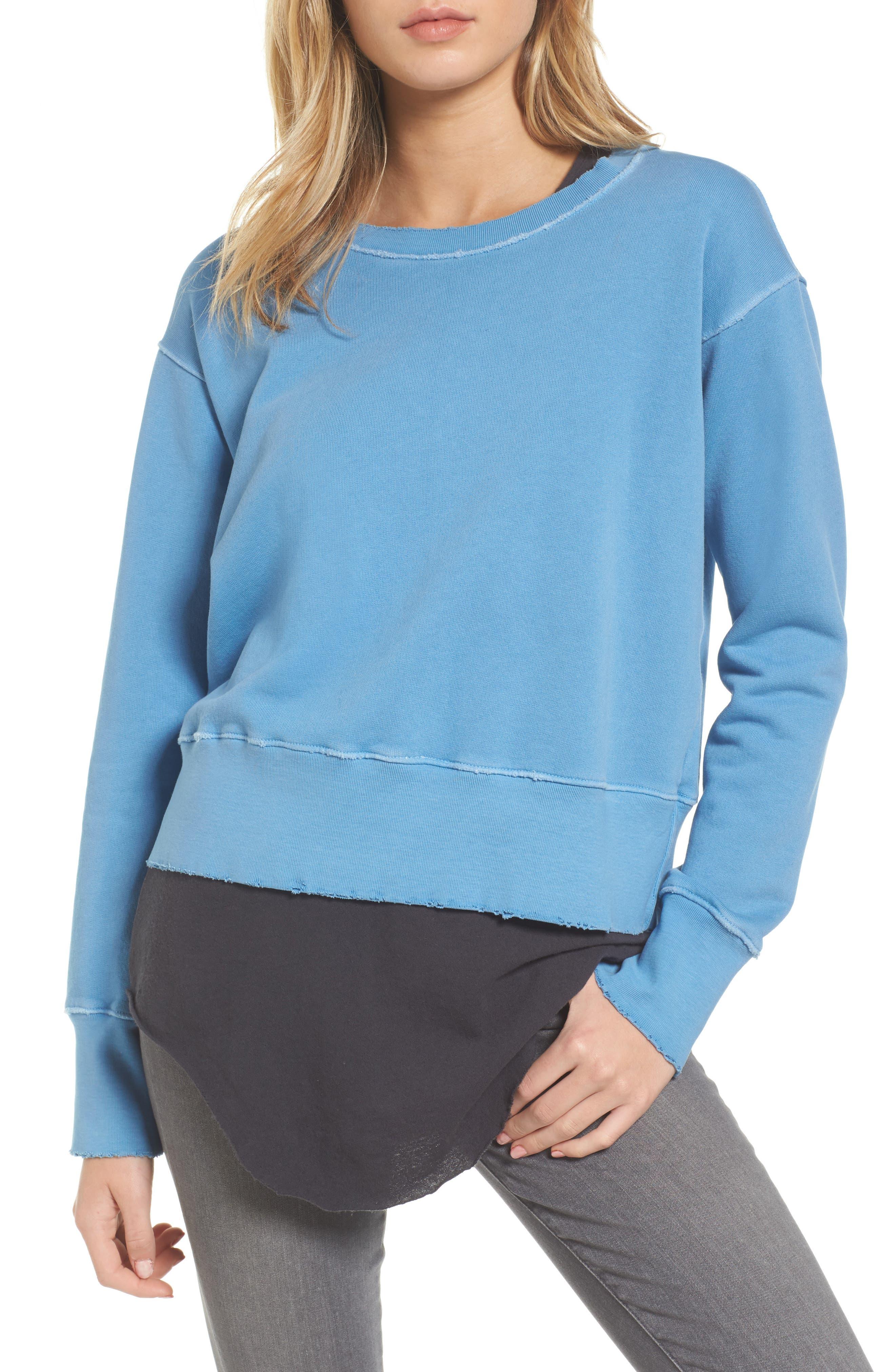 Sweatshirt,                         Main,                         color, Deep End