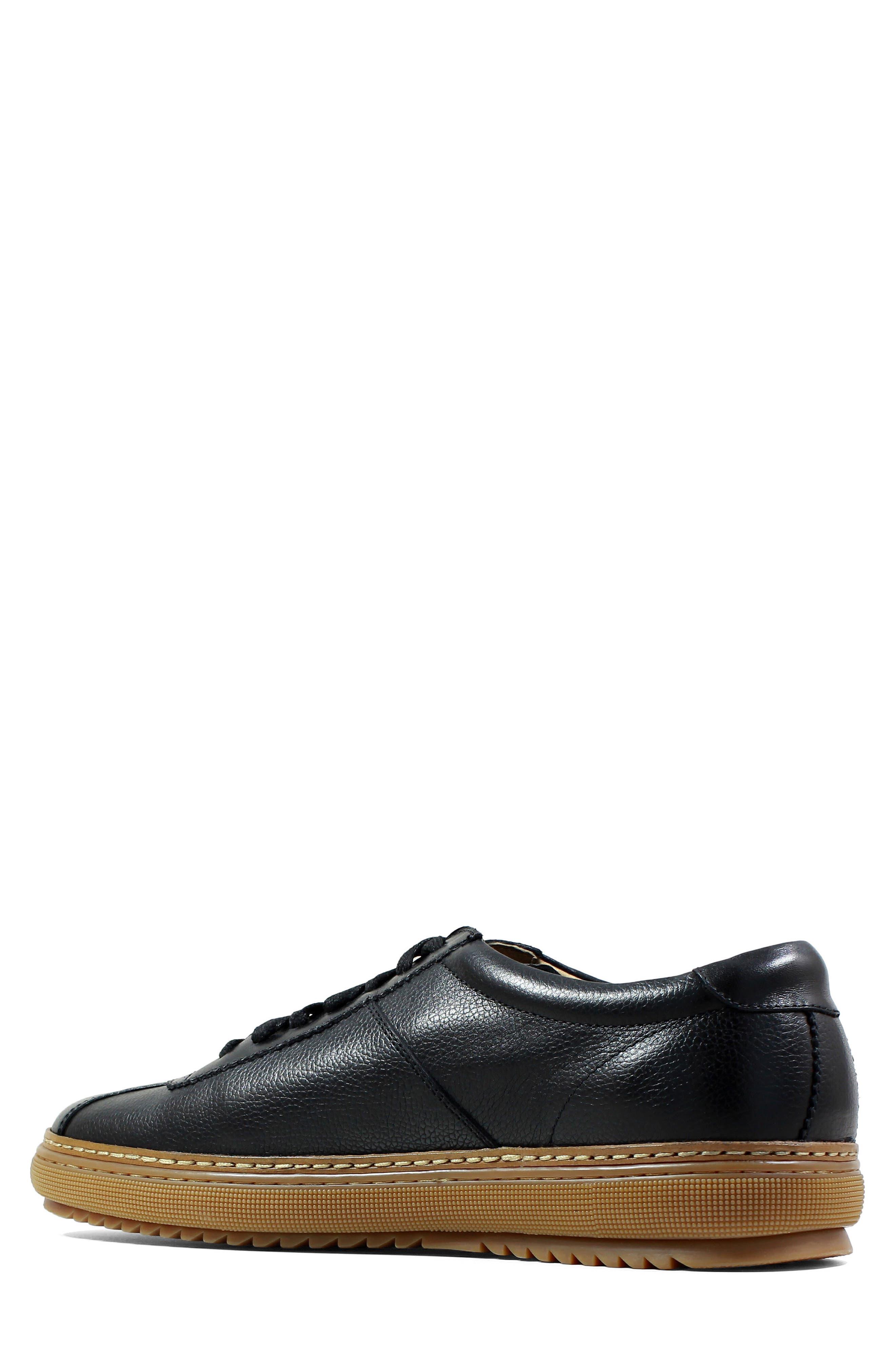 Crew Sneaker,                             Alternate thumbnail 2, color,                             Black