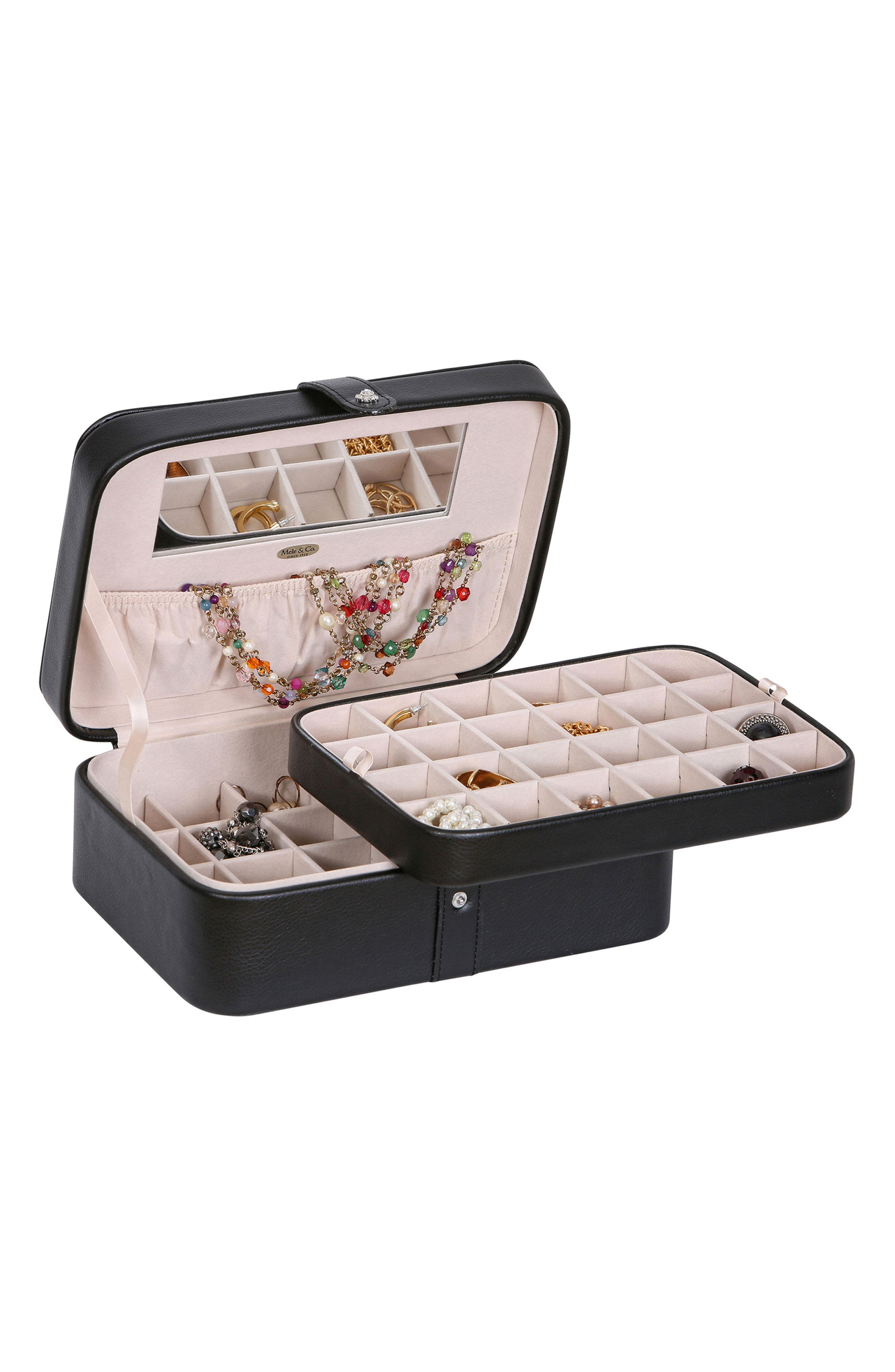 Alternate Image 4  - Mele & Co. Lila Jewelry Box
