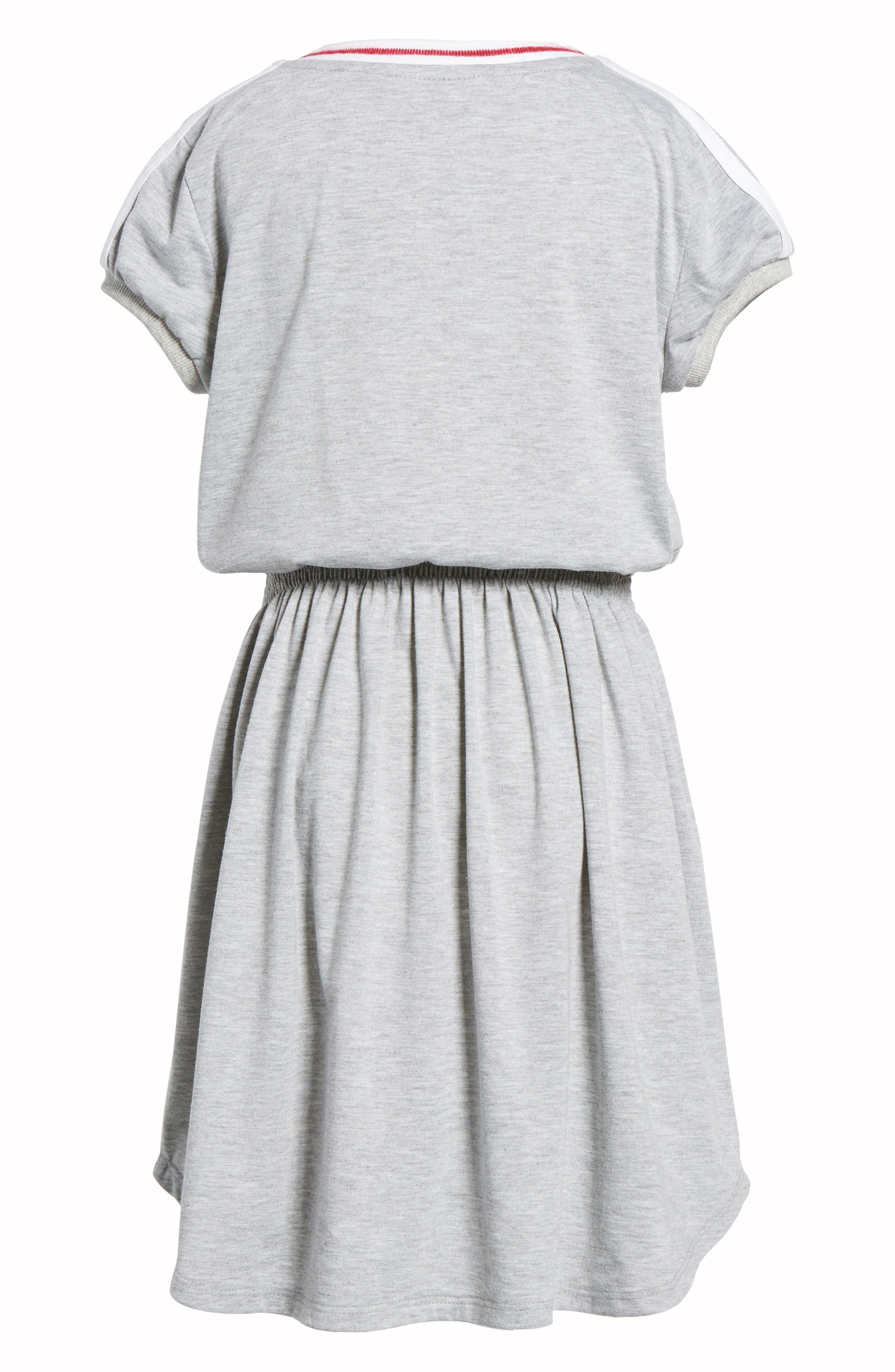 Knit Dress,                             Alternate thumbnail 3, color,                             Grey