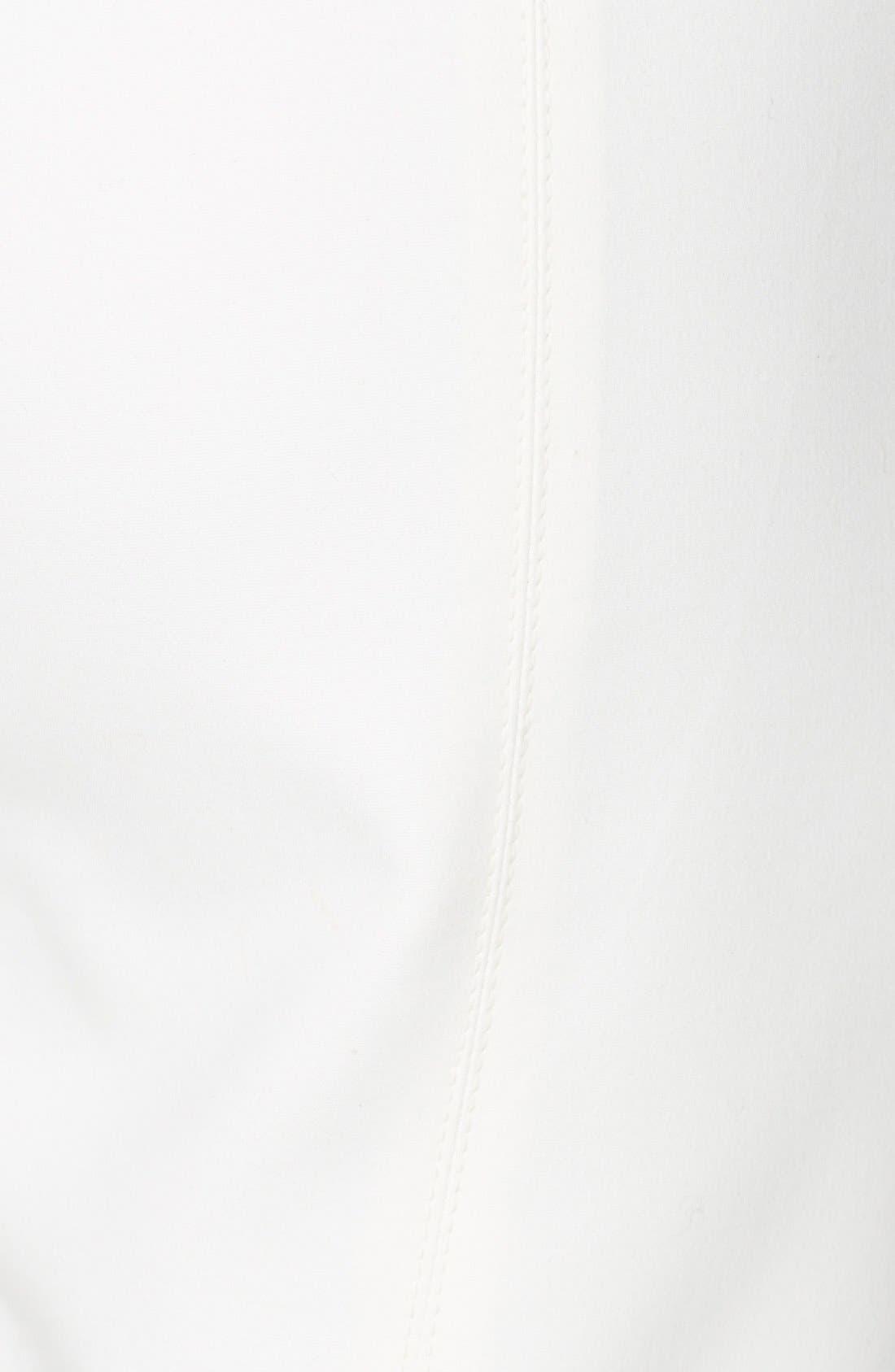 Alternate Image 3  - St. John Collection 'Alexa' Stretch Micro Ottoman Ankle Pants