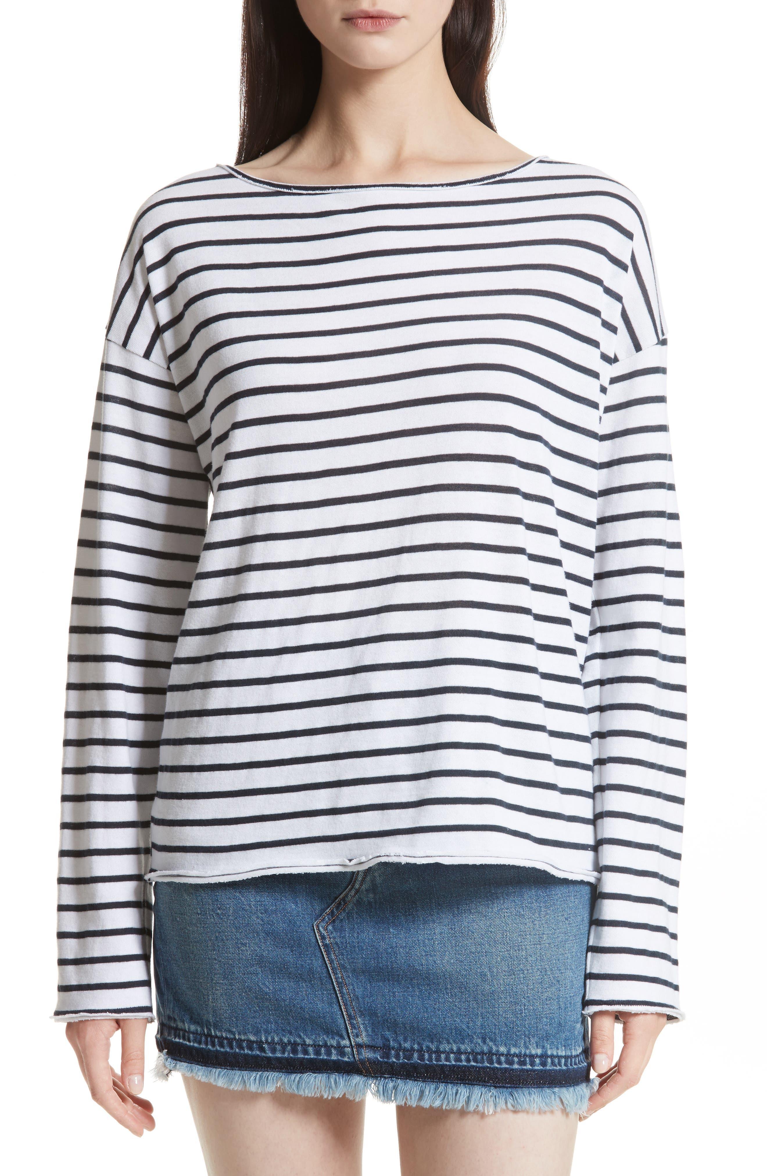 Main Image - rag & bone/JEAN Dakota Long Sleeve Tee