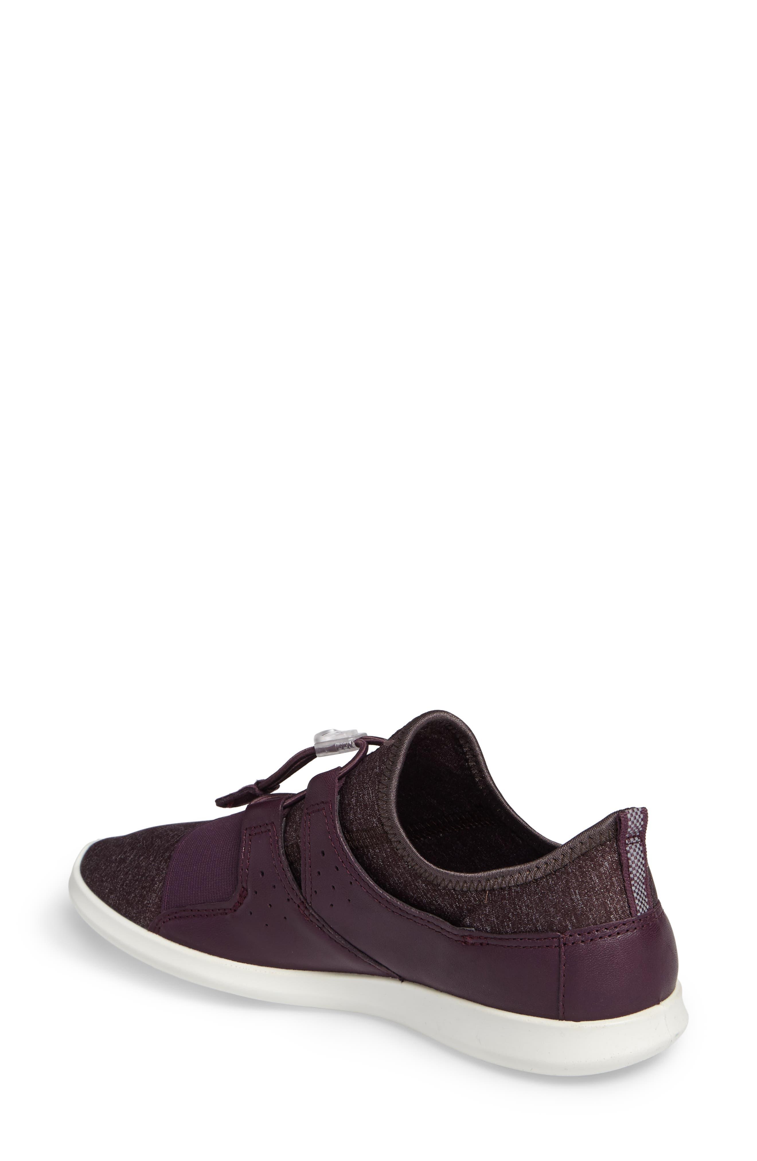 Sense Toggle Sneaker,                             Alternate thumbnail 2, color,                             Mauve Leather