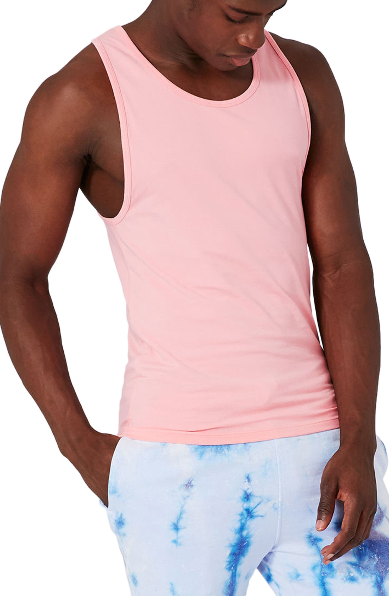 Topman Muscle Fit Tank