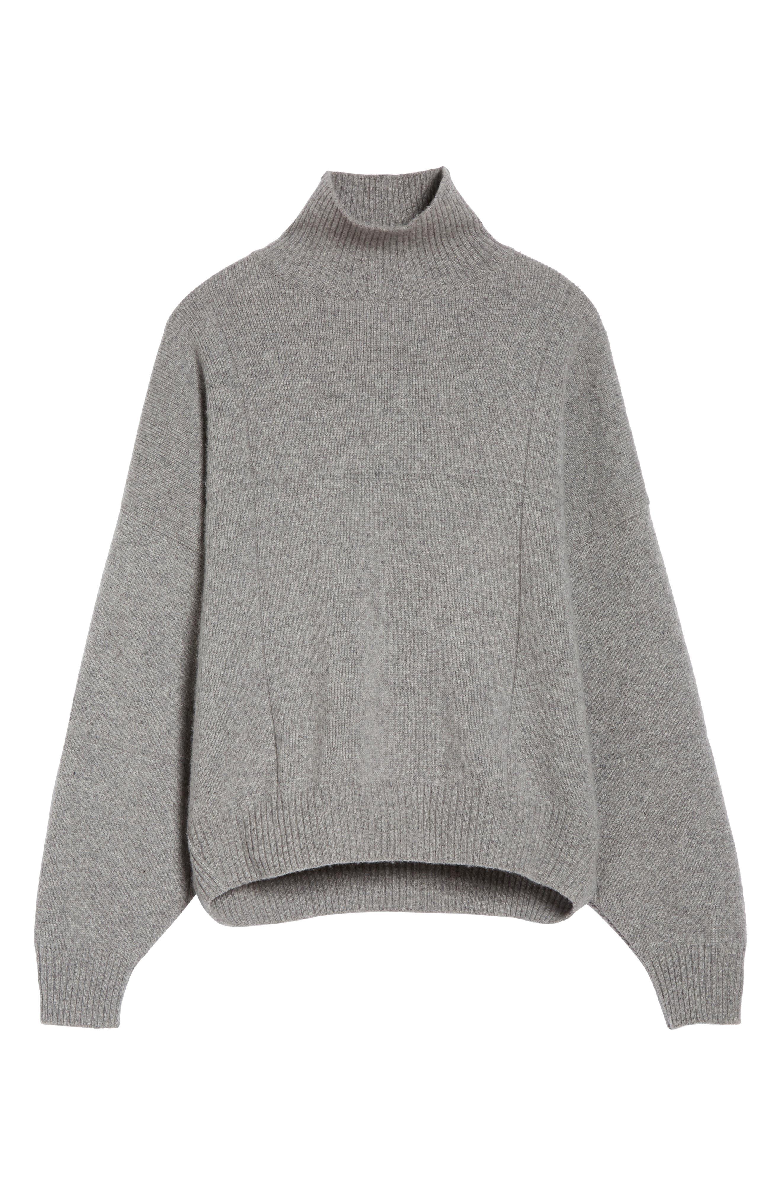 Alternate Image 7  - Vejas Concrete Wool Turtleneck Sweater