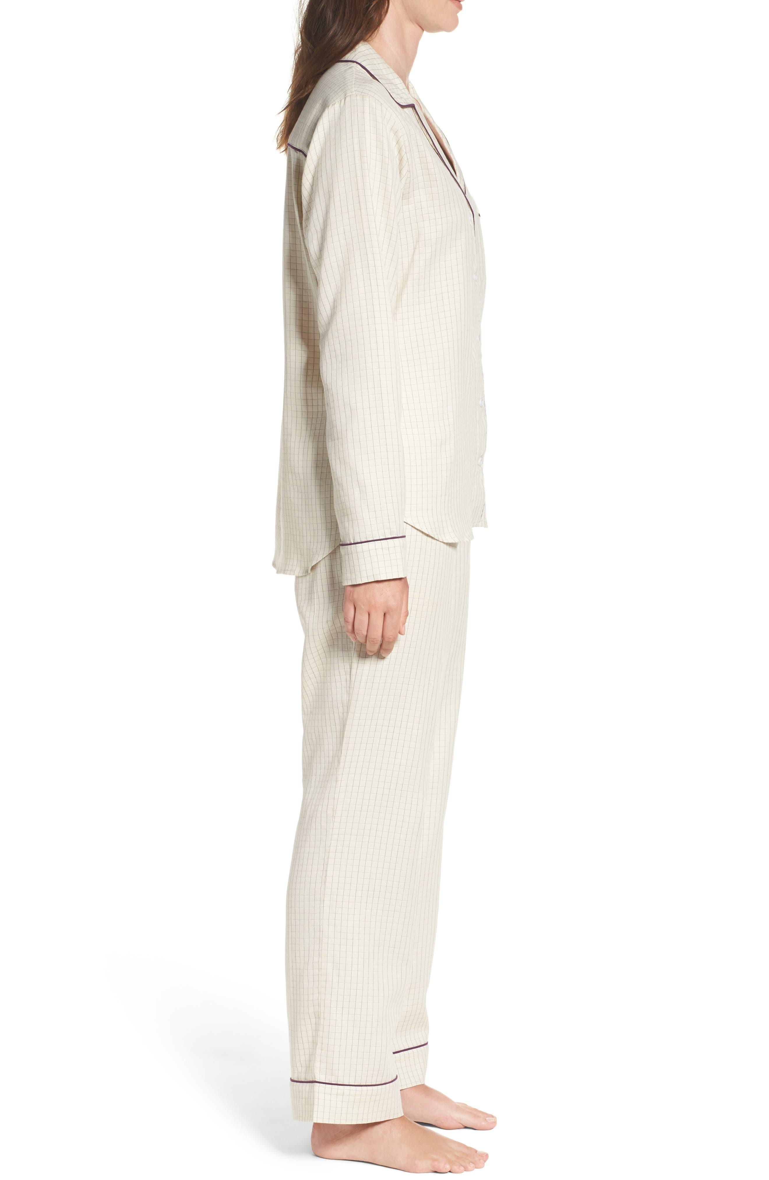Alternate Image 3  - UGG® Raven Check Pajamas