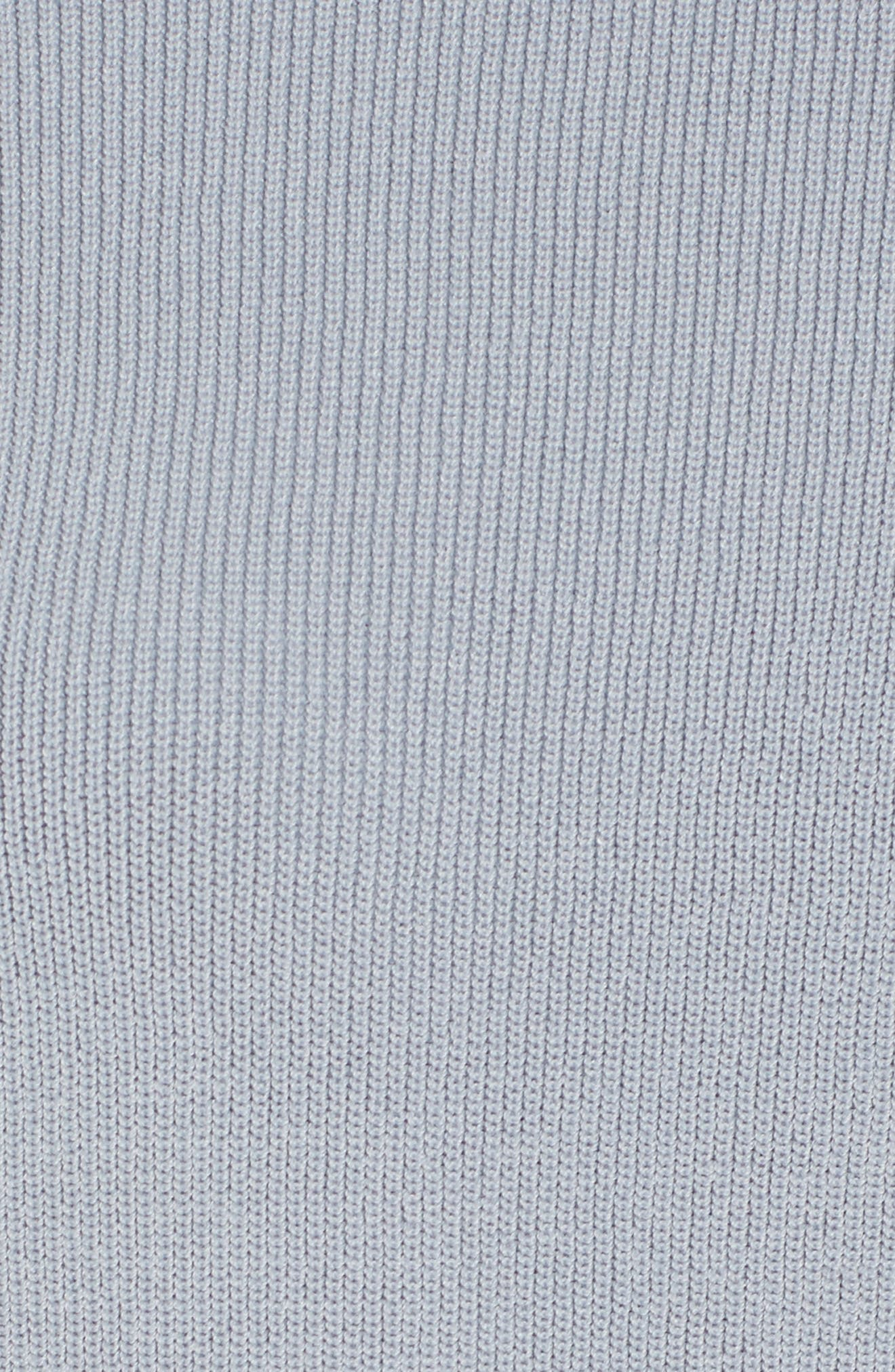Alternate Image 5  - J.O.A. Lace-Up Sleeve Sweater