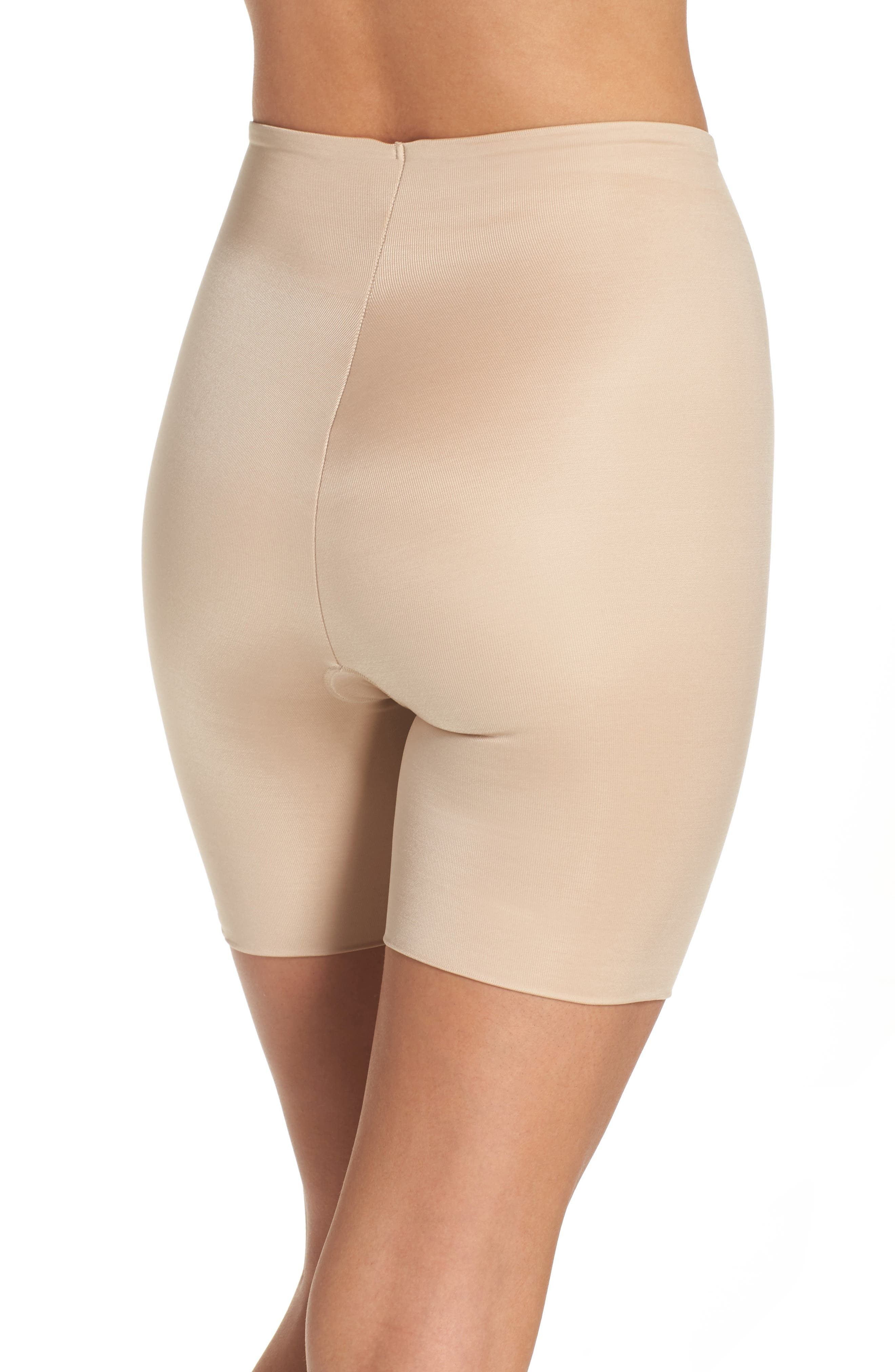 Alternate Image 2  - SPANX® Power Conceal-Her Mid Thigh Shaping Shorts