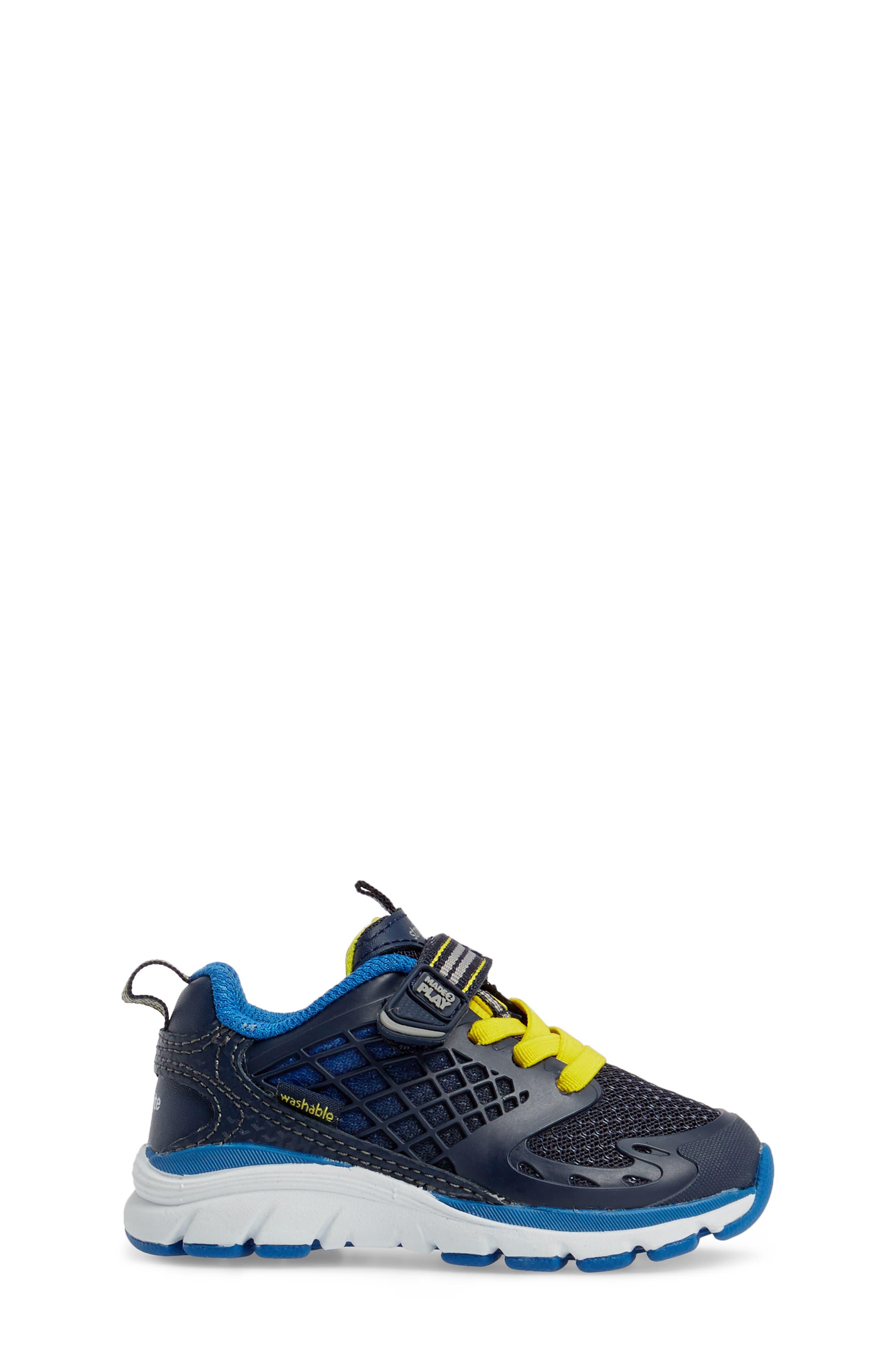 Made 2 Play Breccen Sneaker,                             Alternate thumbnail 3, color,                             Navy