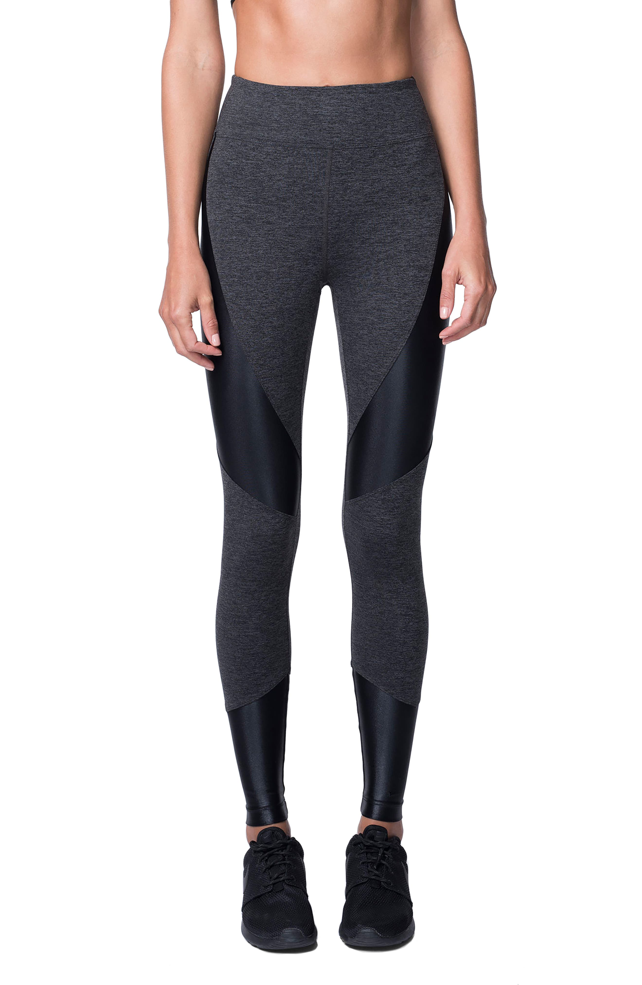 Forge Leggings,                         Main,                         color, Dark Heather Grey/Black