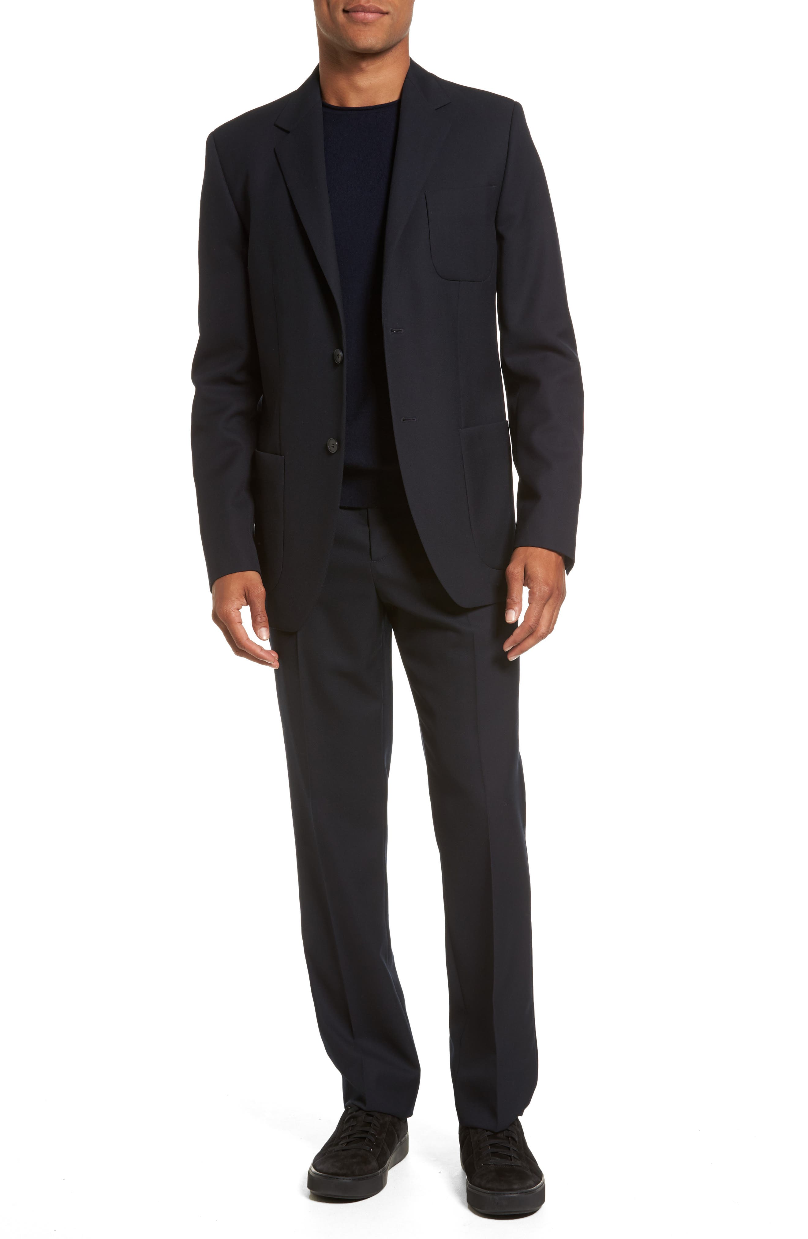 Alternate Image 6  - Vince Regular Fit Wool Trousers