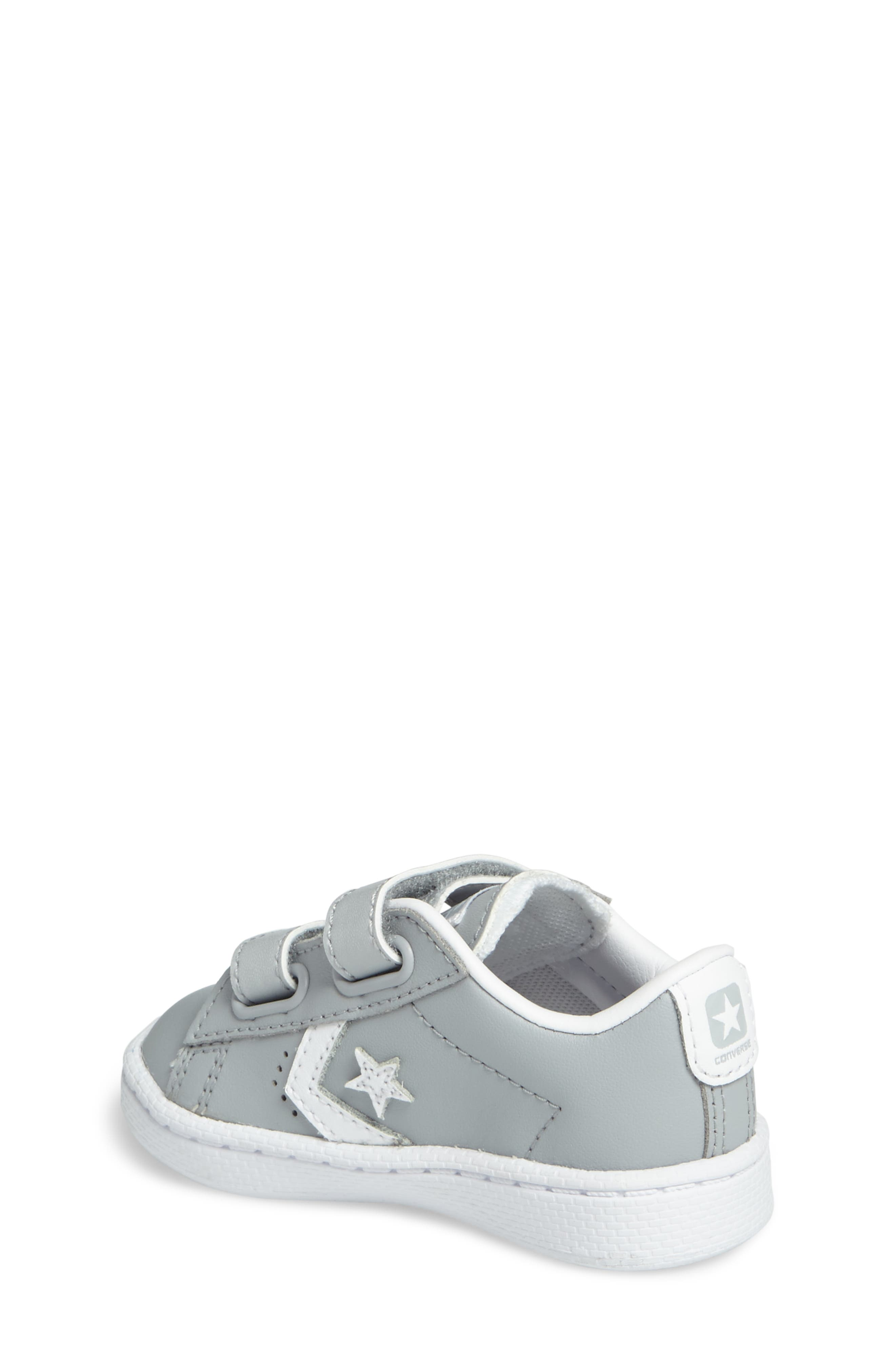Alternate Image 2  - Converse Pro Leather Low Top Sneaker (Baby, Walker, & Toddler)