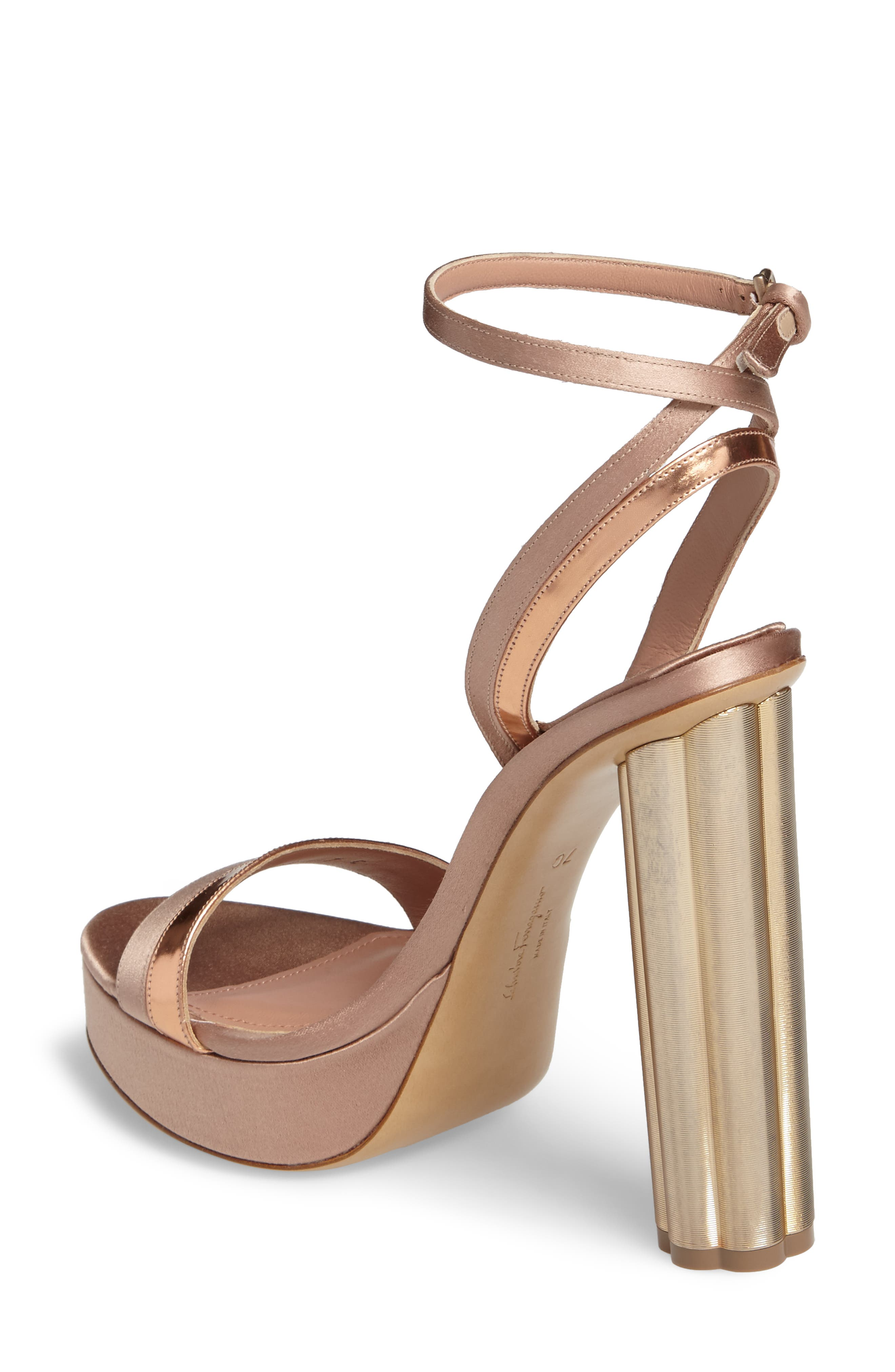 Alternate Image 2  - Salvatore Ferragamo Ankle Strap Platform Sandal (Women)