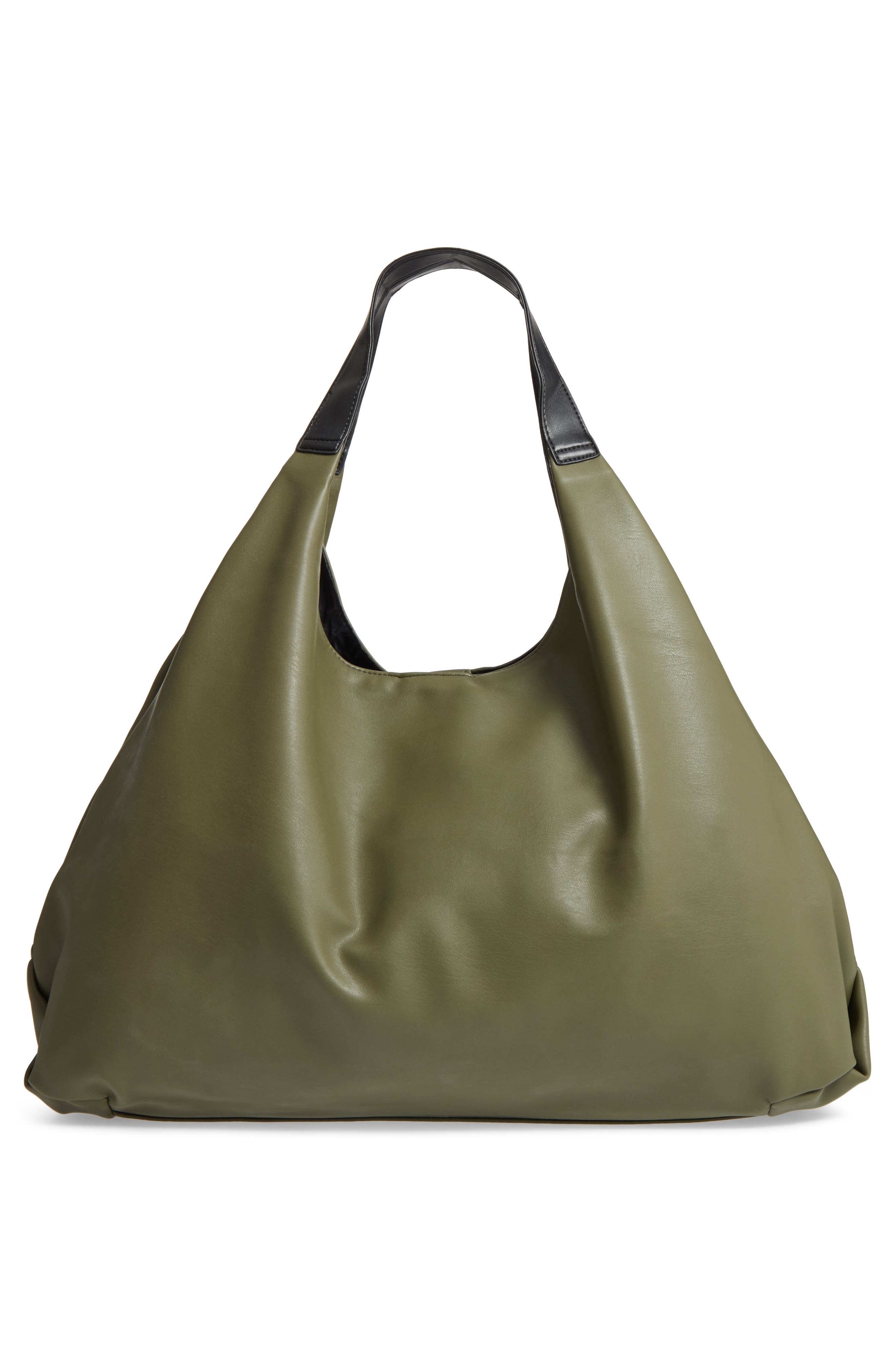 Alternate Image 2  - Peace Love World Slouchy Faux Leather Hobo
