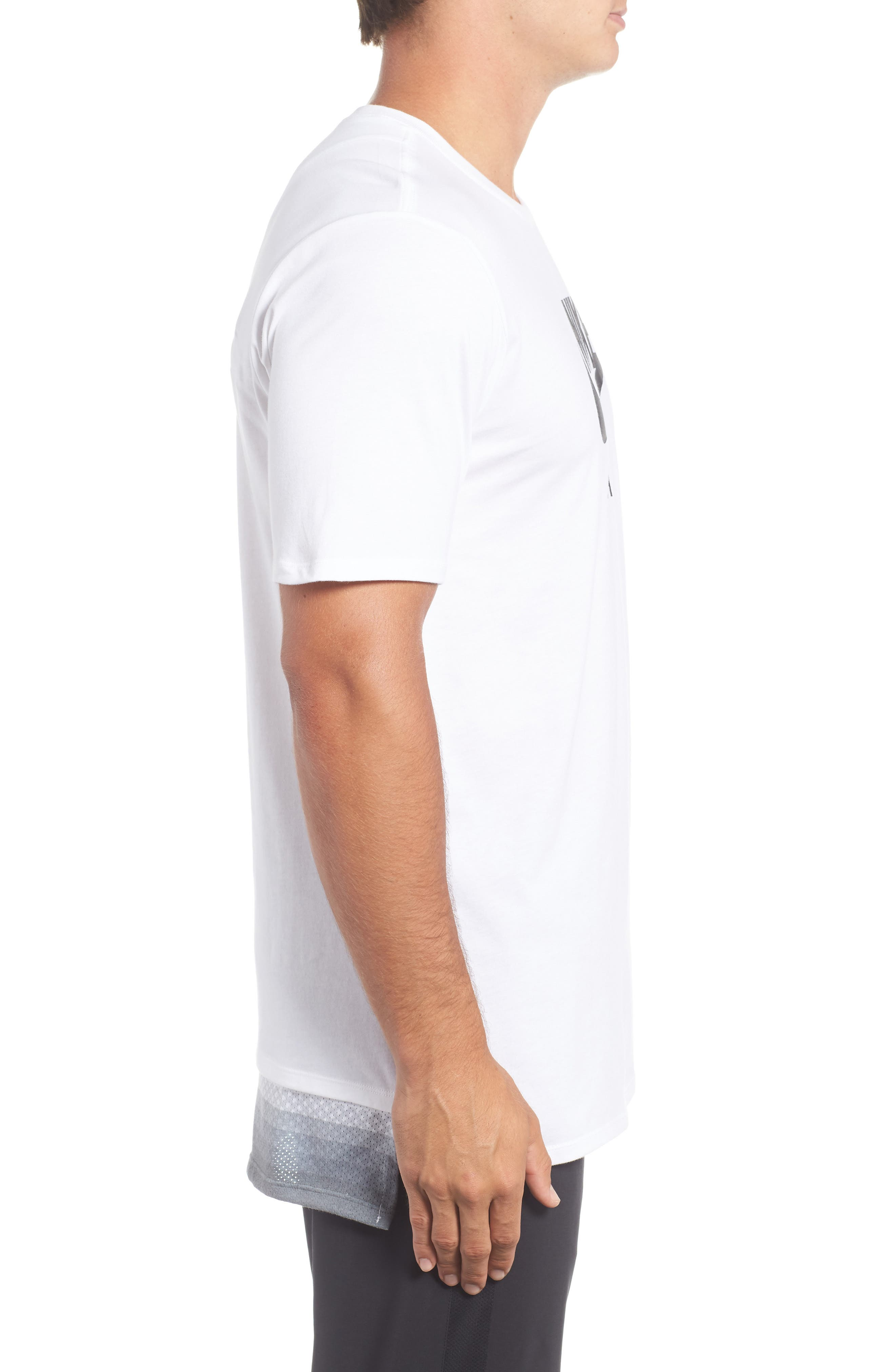 Alternate Image 3  - Nike Logo Graphic T-Shirt
