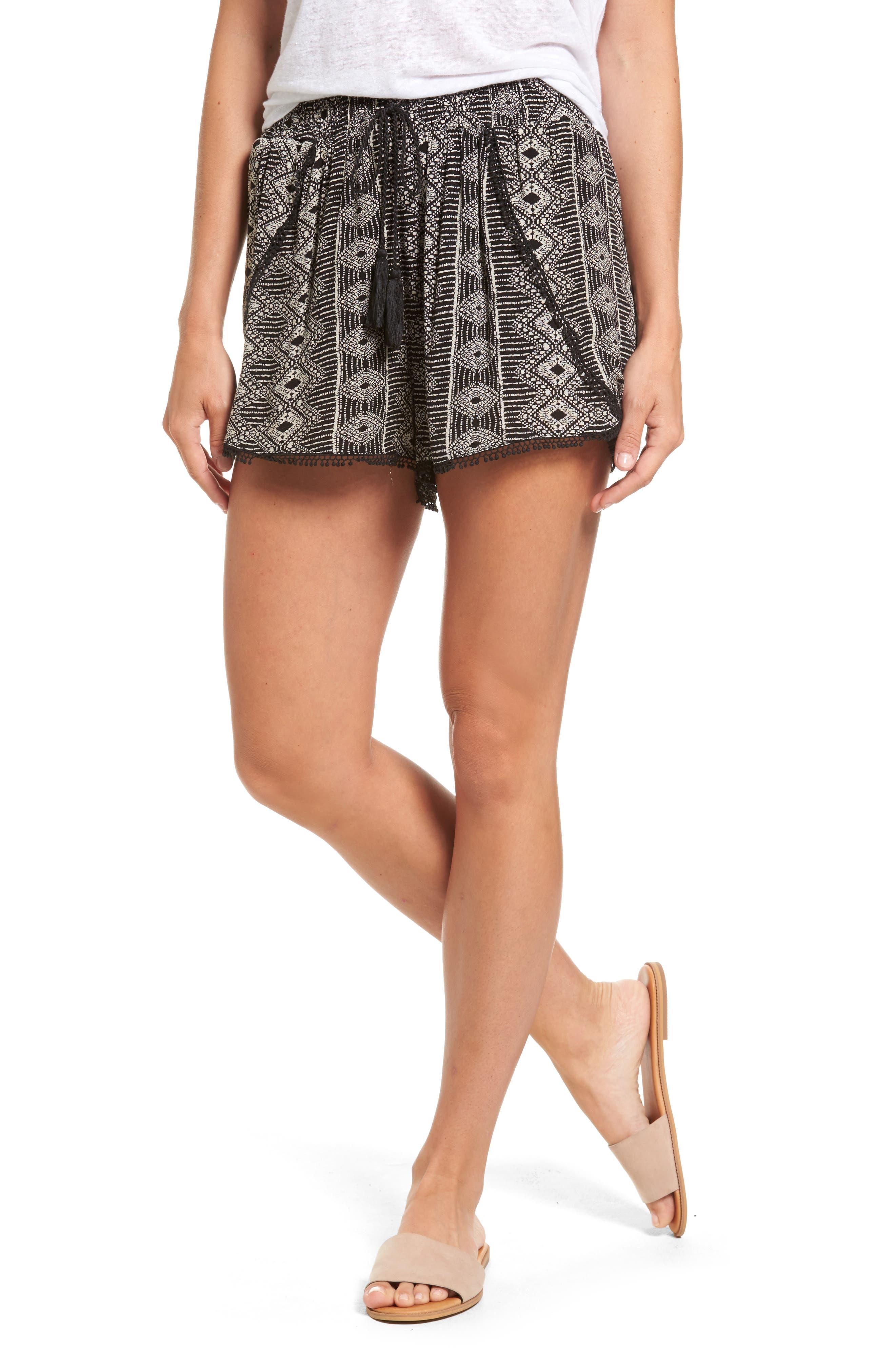 Dex Print Drawstring Shorts