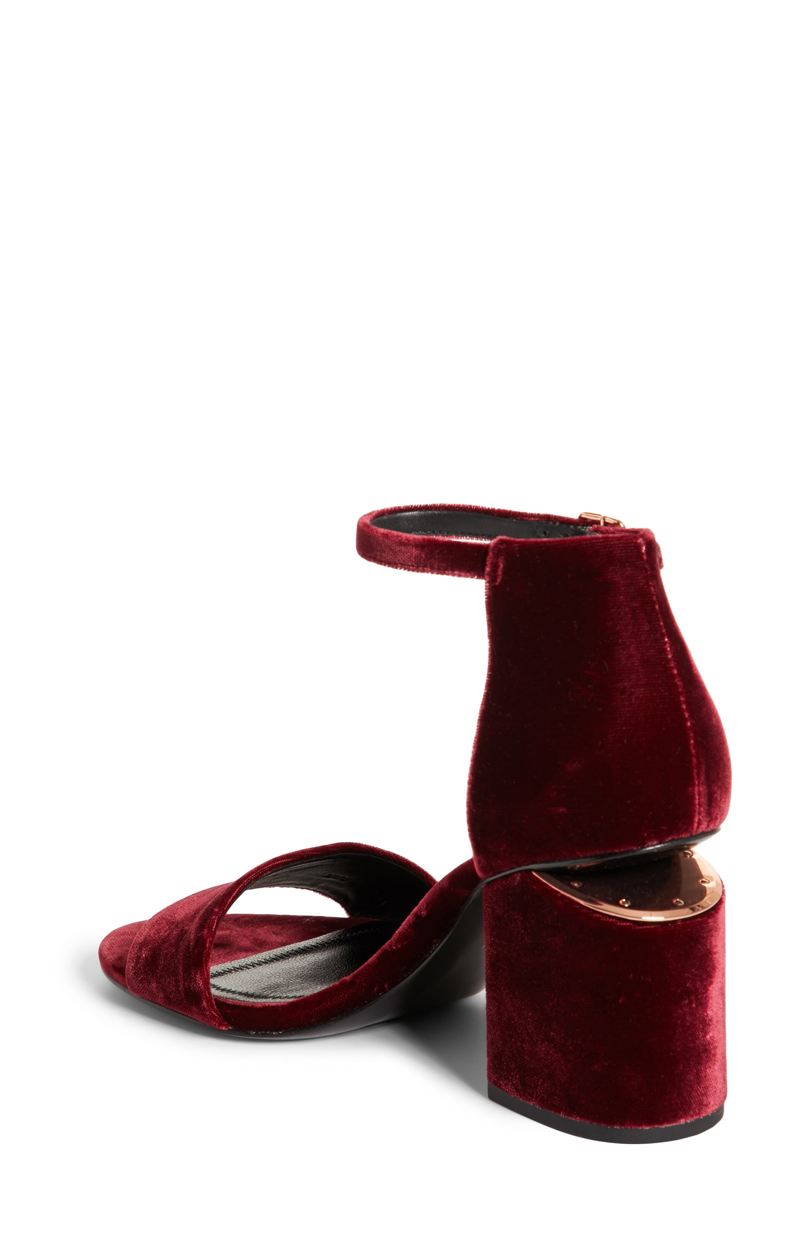 Alternate Image 2  - Alexander Wang Abby Notch Heel Sandal (Women)
