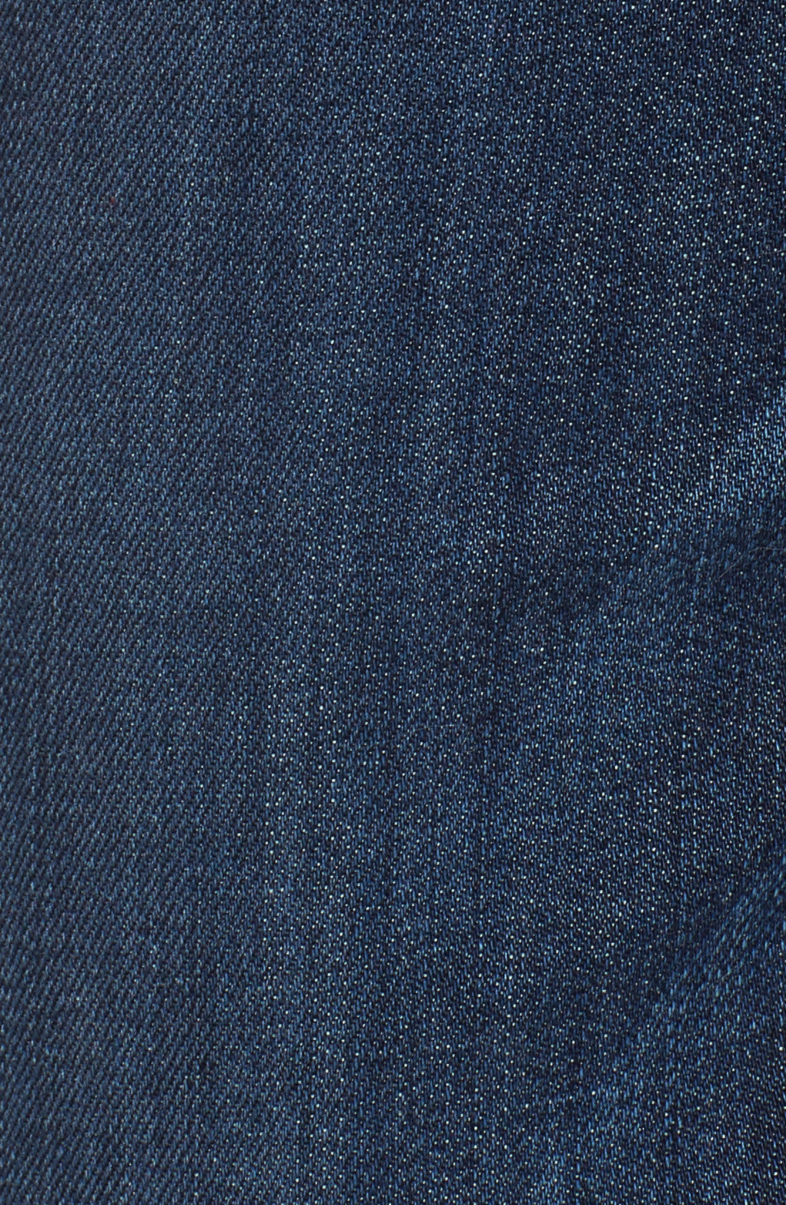 Alternate Image 5  - KUT from the Kloth Amy Cuffed Crop Jeans (Overt)