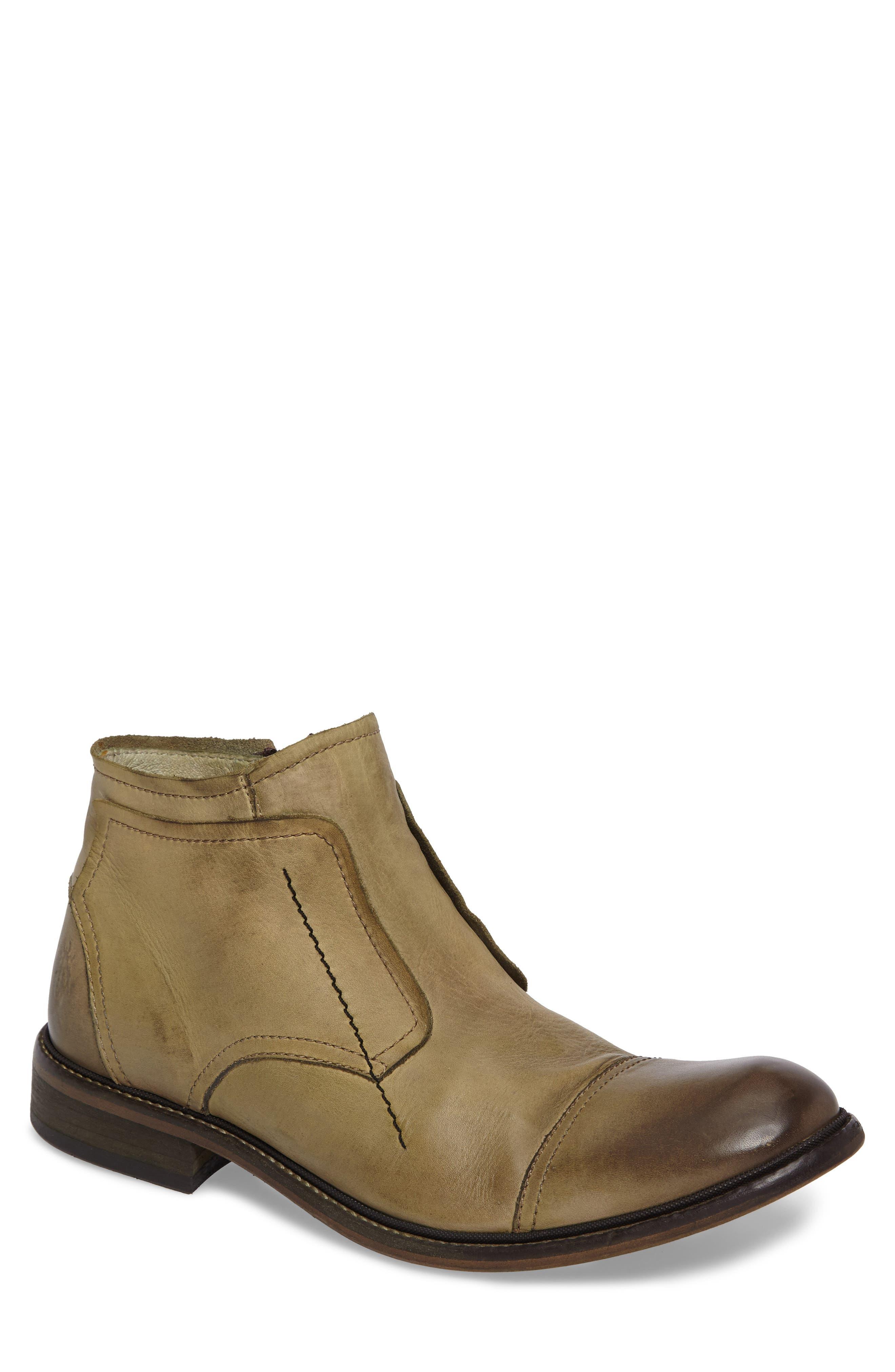 Fly London Hale Low Cap Toe Boot (Men)