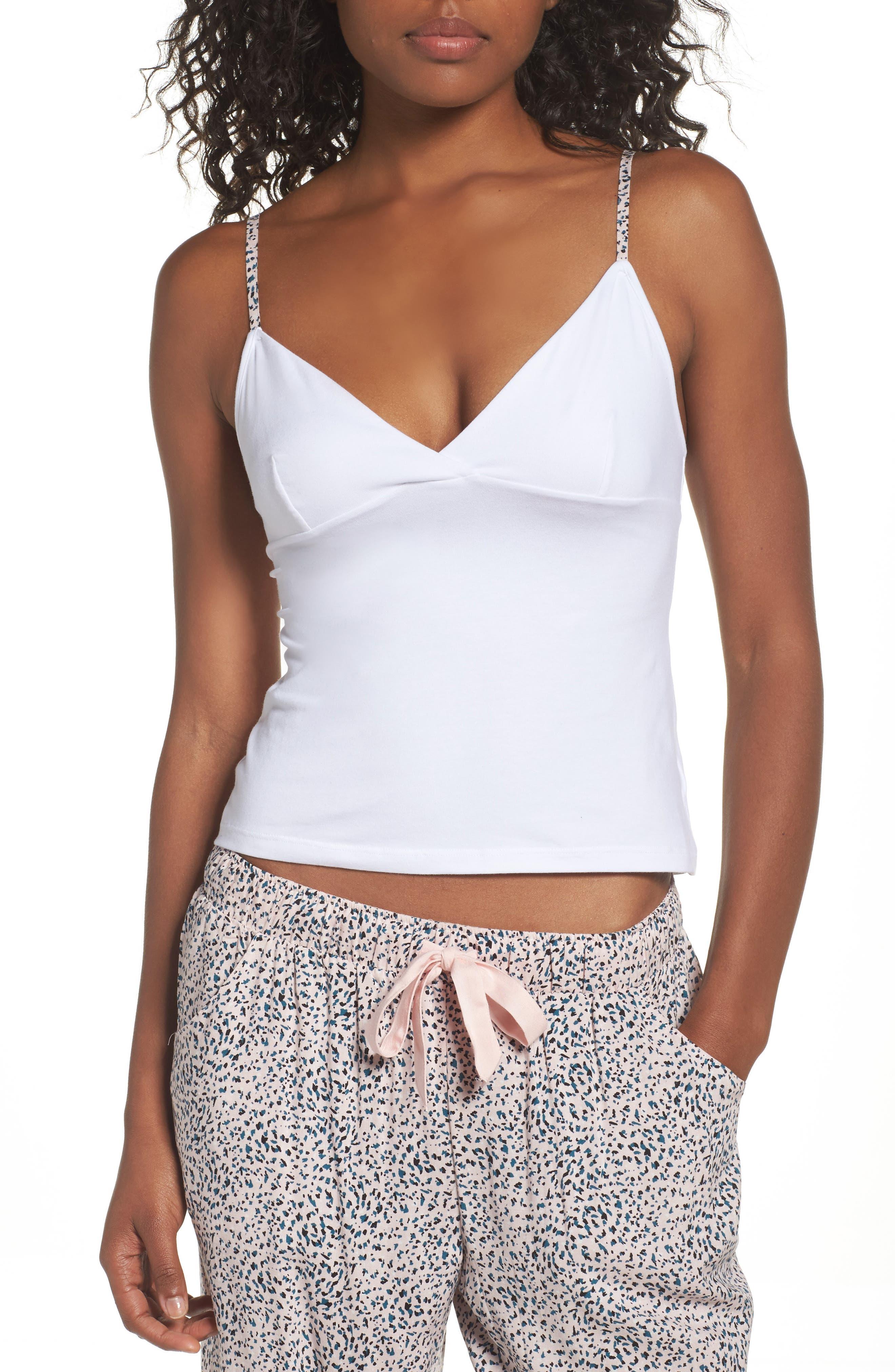 TOPSHOP Leopard Strap Sleep Camisole
