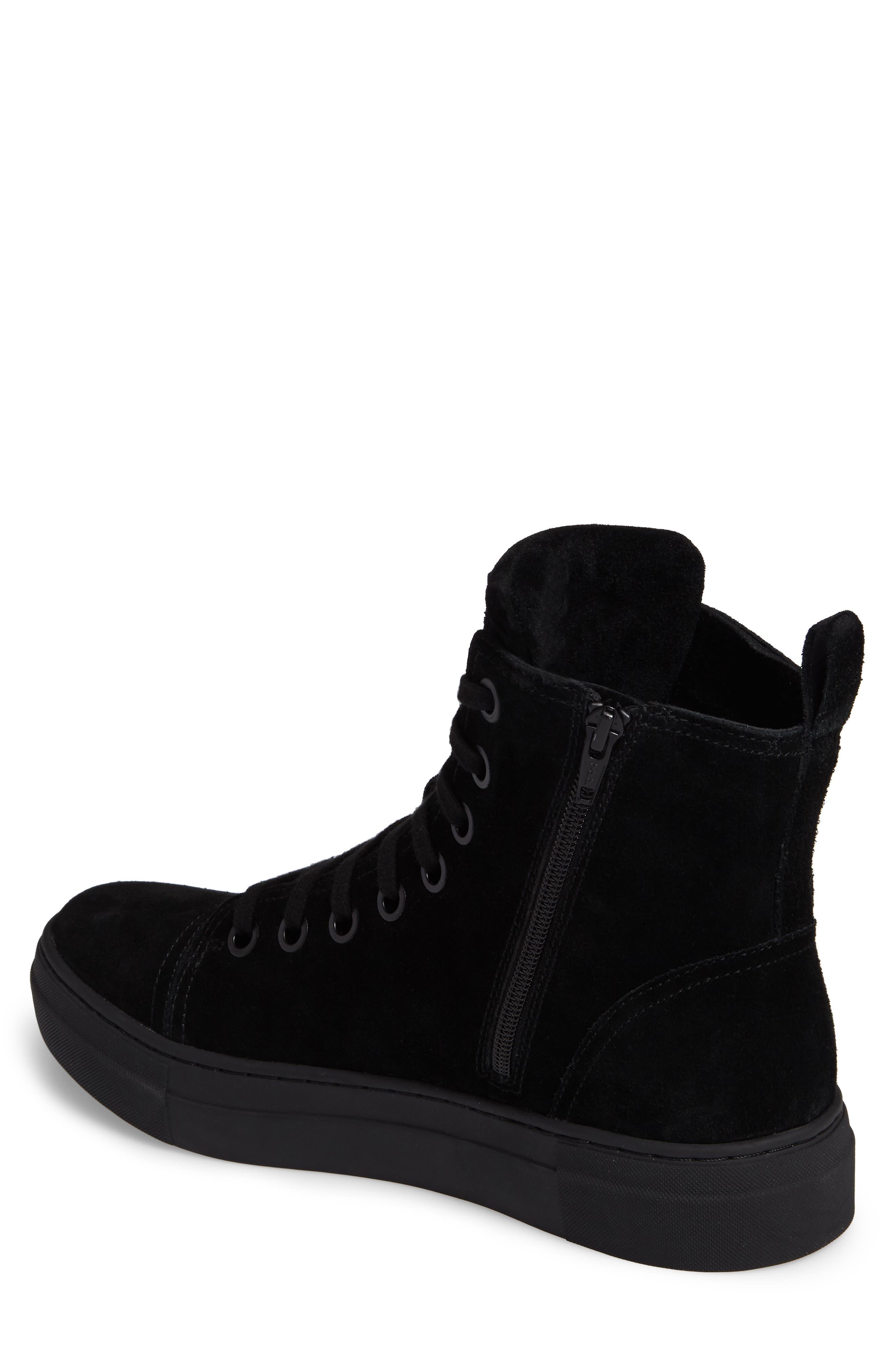Ormisten Sneaker,                             Alternate thumbnail 2, color,                             Black Suede