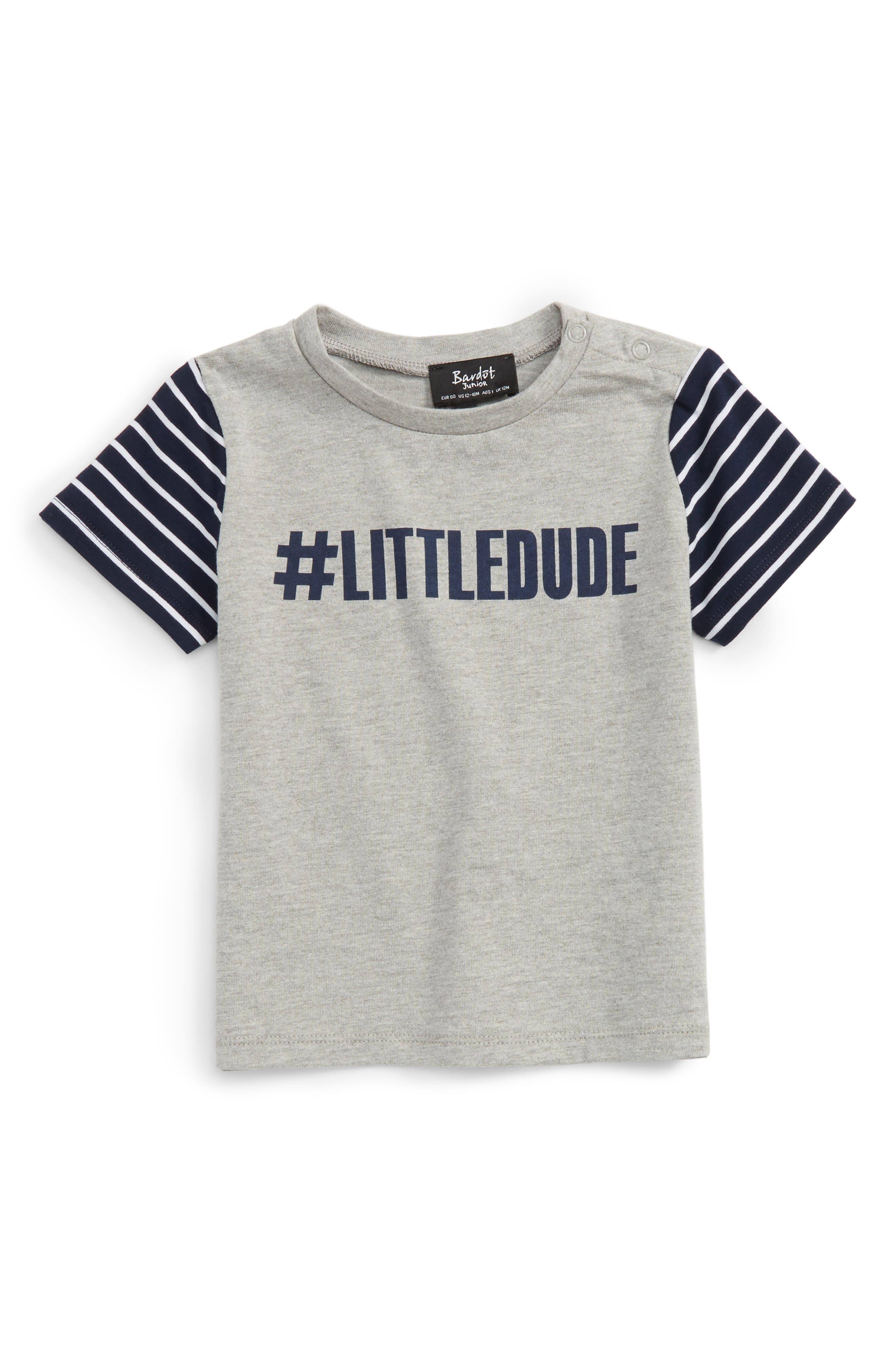 Alternate Image 1 Selected - Bardot Junior LittleDude T-Shirt (Baby Boys)
