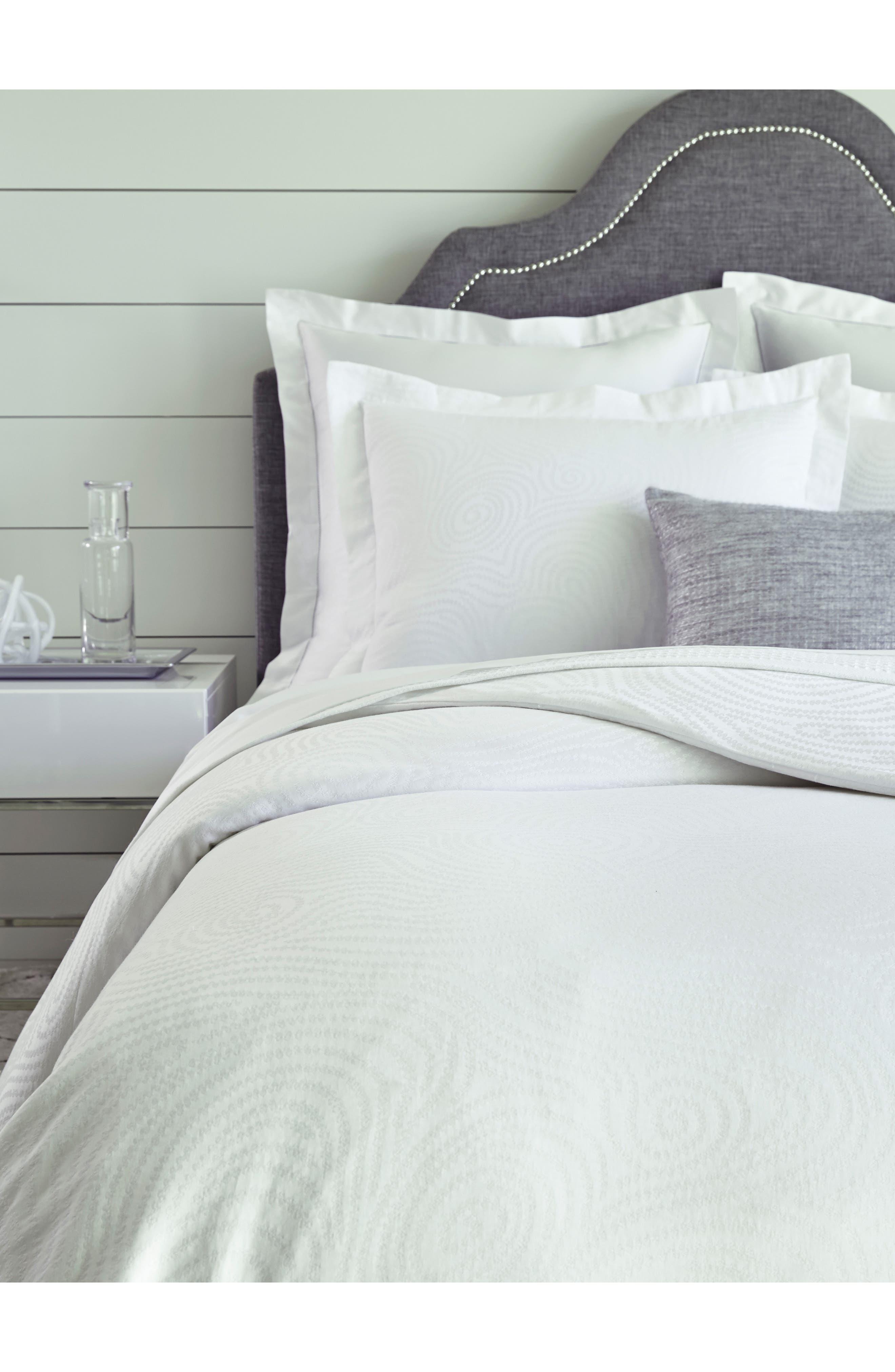 Dianti Duvet Cover,                         Main,                         color, White