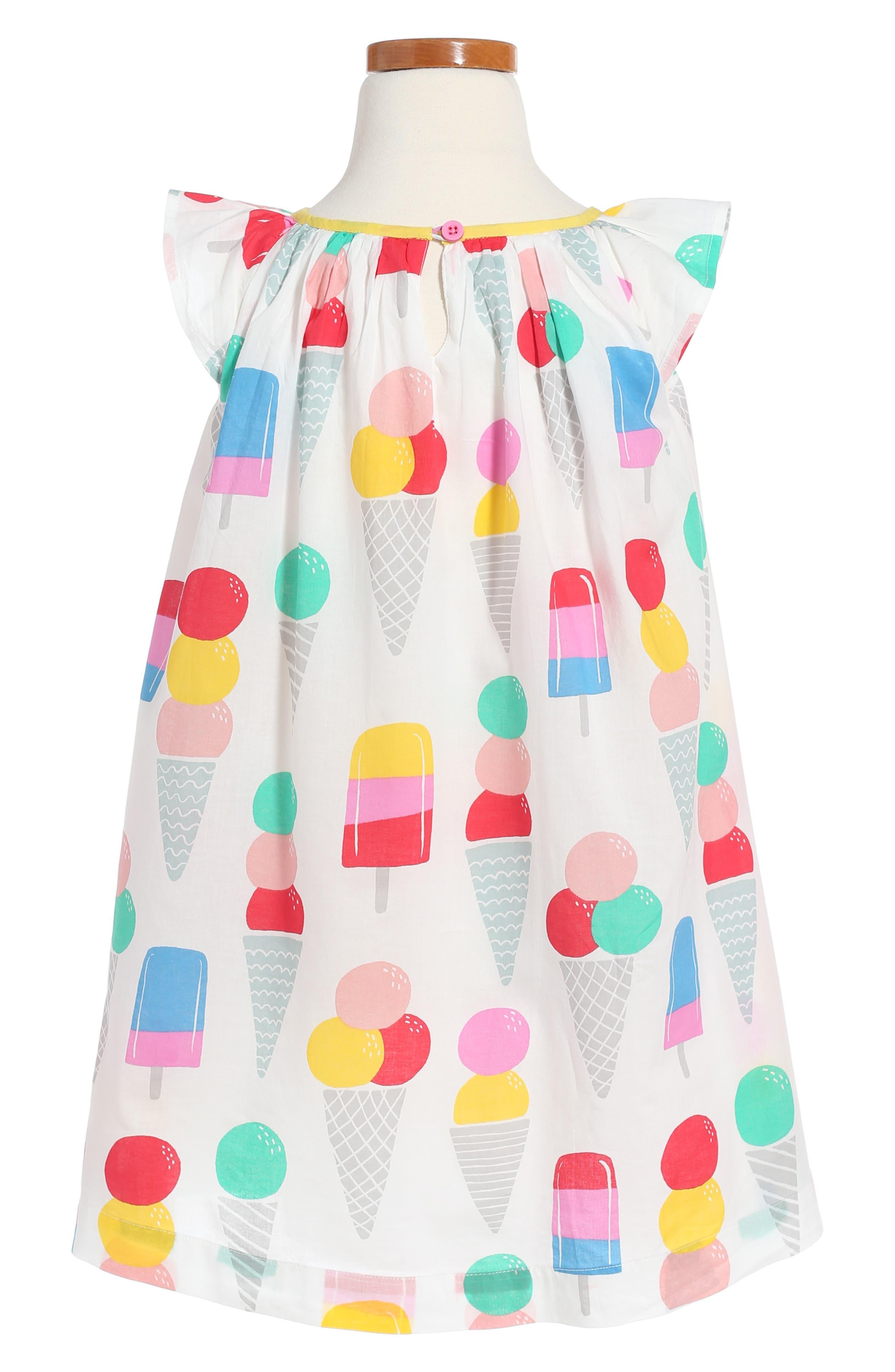 Print Dress,                             Alternate thumbnail 2, color,                             Multi Ice Creams