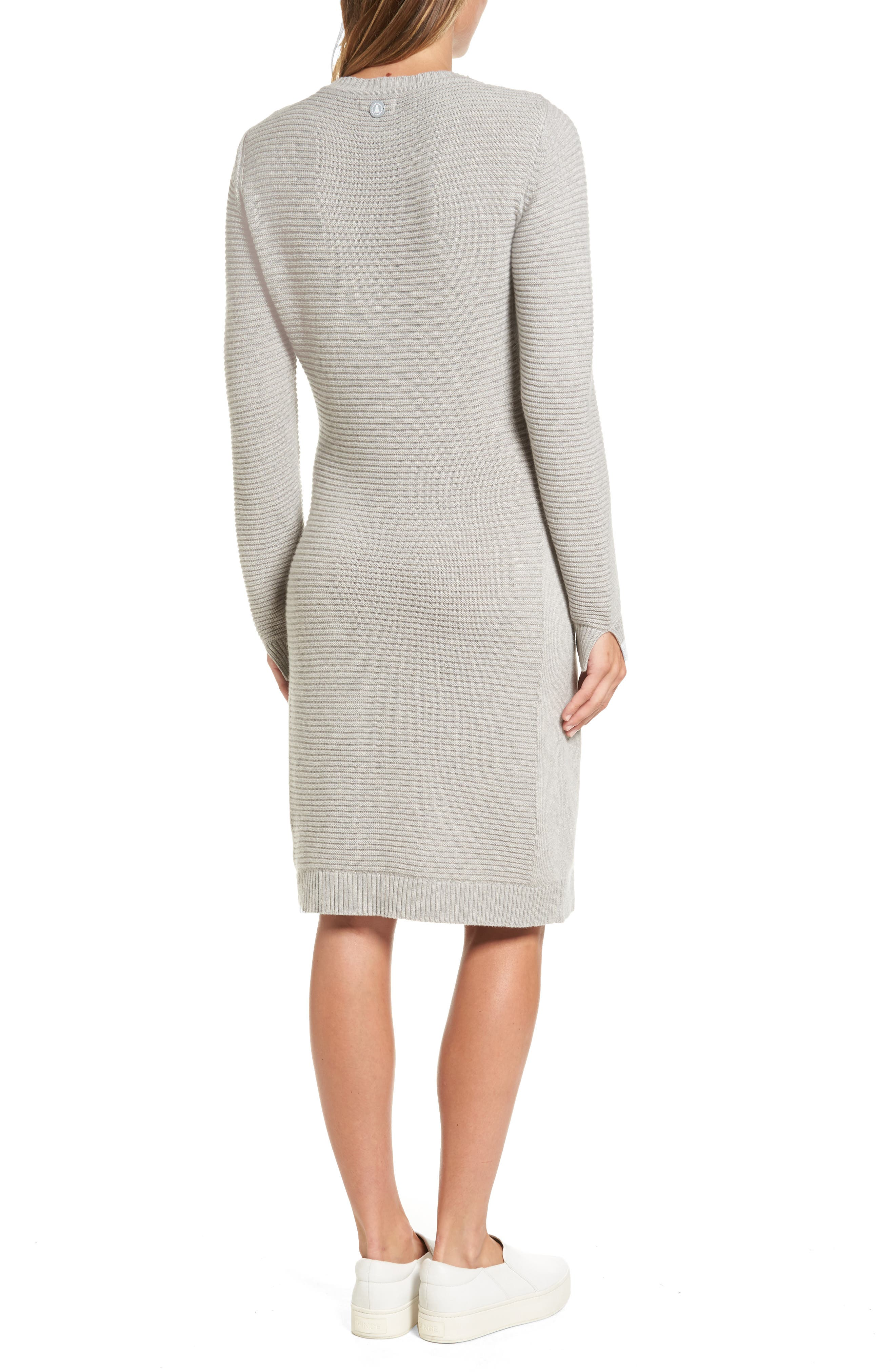 Alternate Image 2  - Barbour Emmanuel Cable Knit Sweater Dress