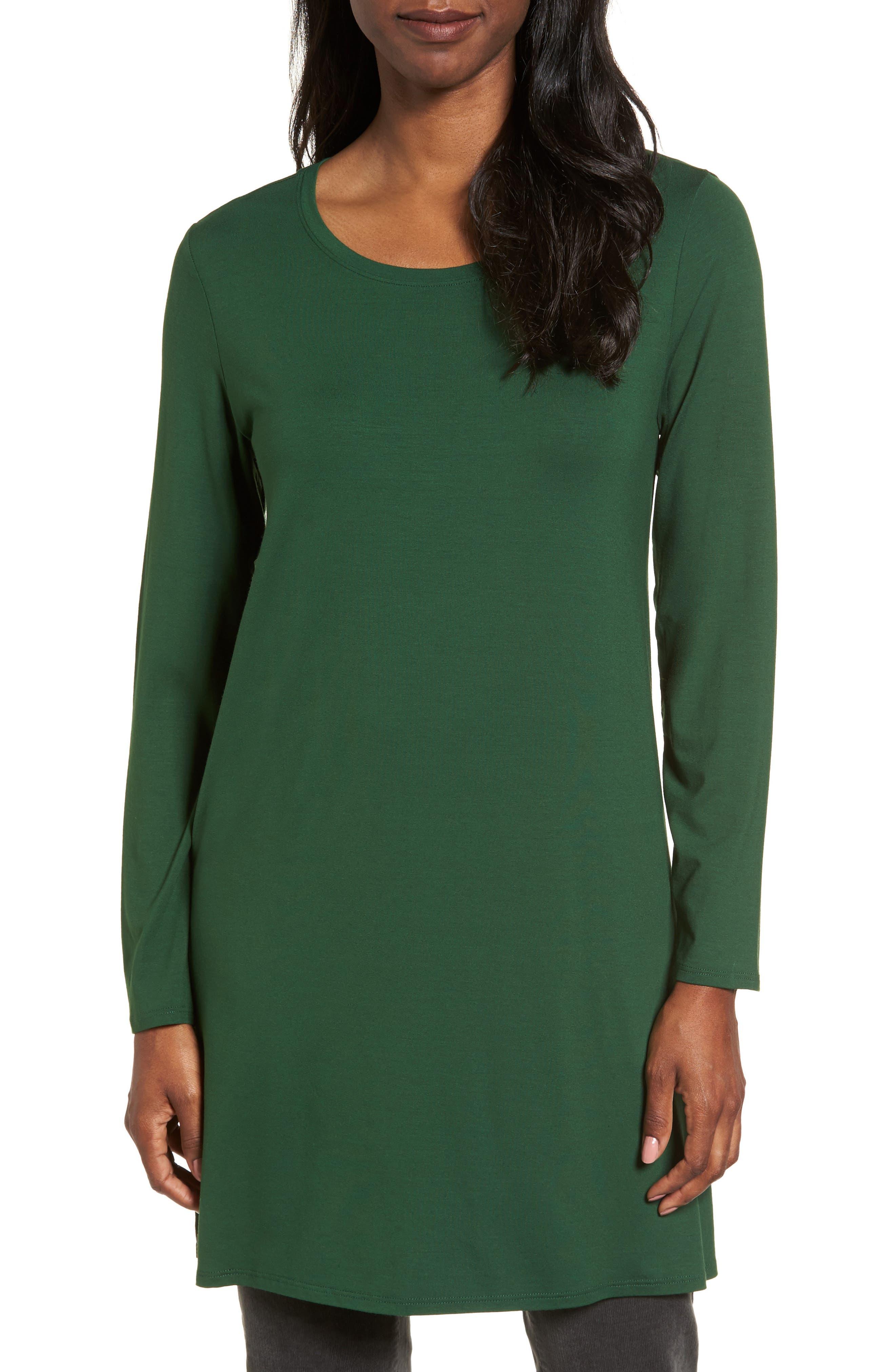 Jersey Tunic,                         Main,                         color, Hemlock