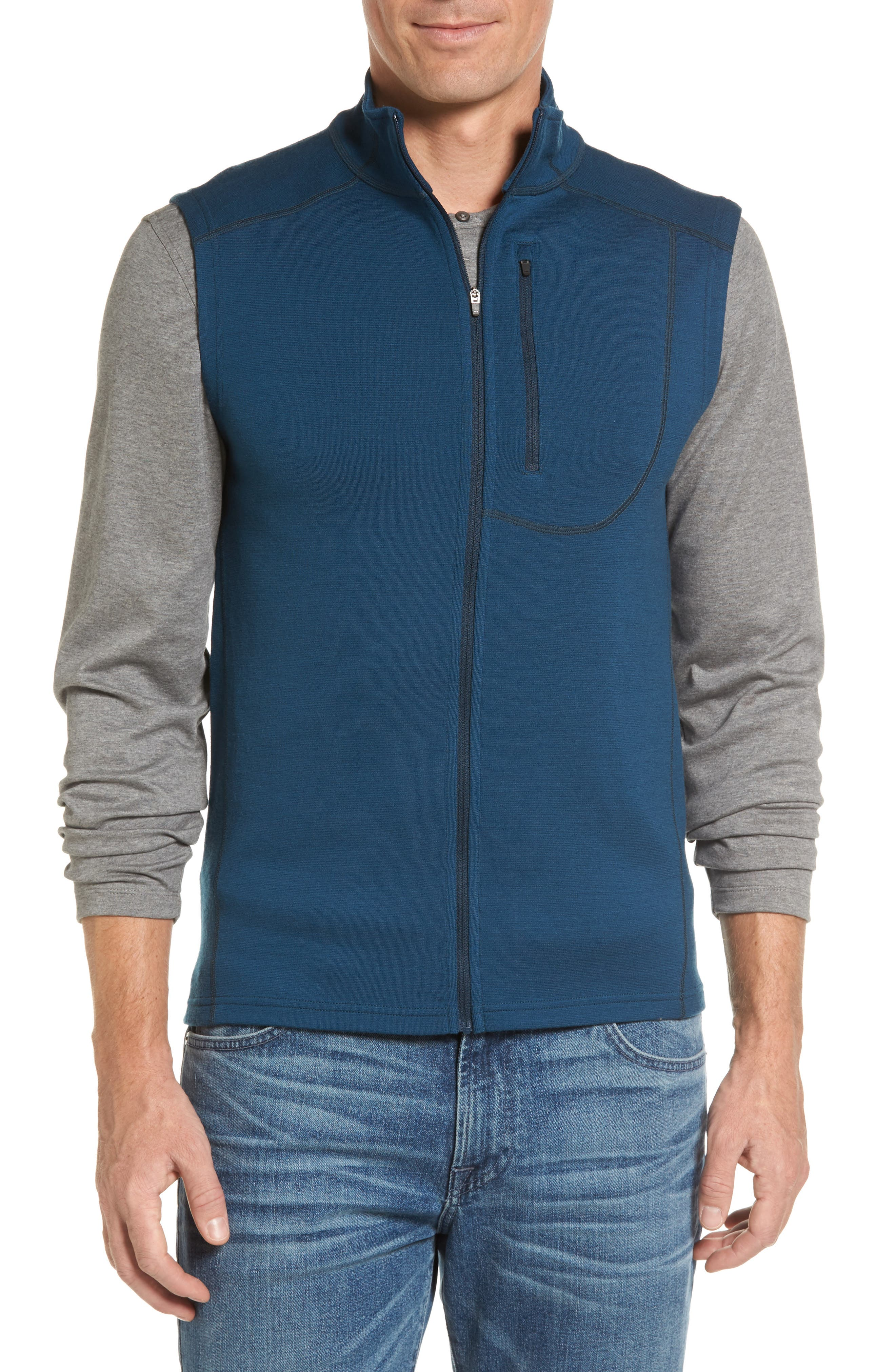 ibex 'Shak' Merino Wool Vest