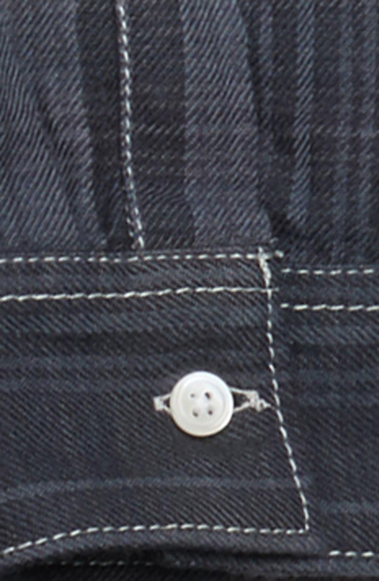 Ombré Plaid Shirt,                             Alternate thumbnail 2, color,                             Blue Vintage- Blue