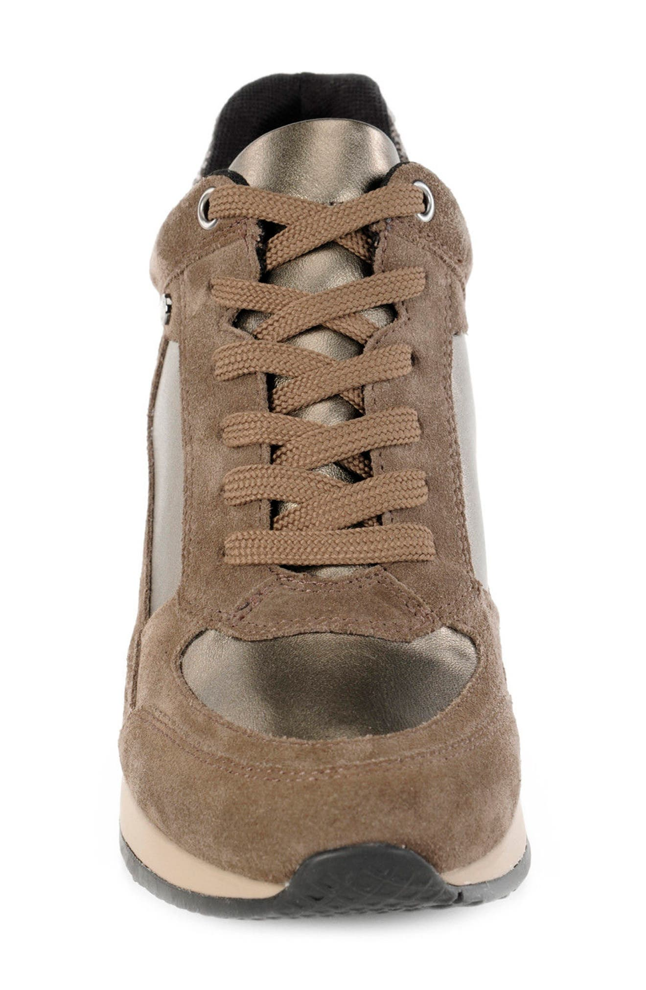 Alternate Image 4  - Geox Nydame Wedge Sneaker (Women)